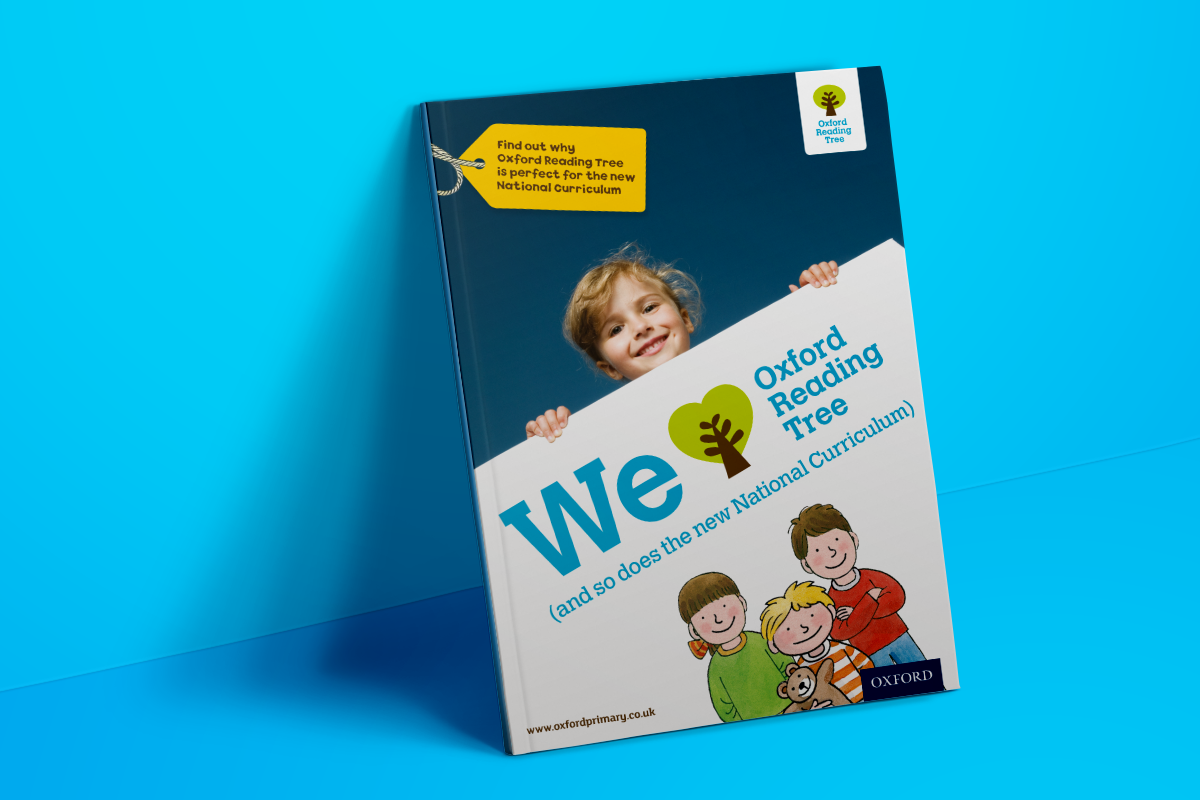 Brochure design for Oxford Reading tree