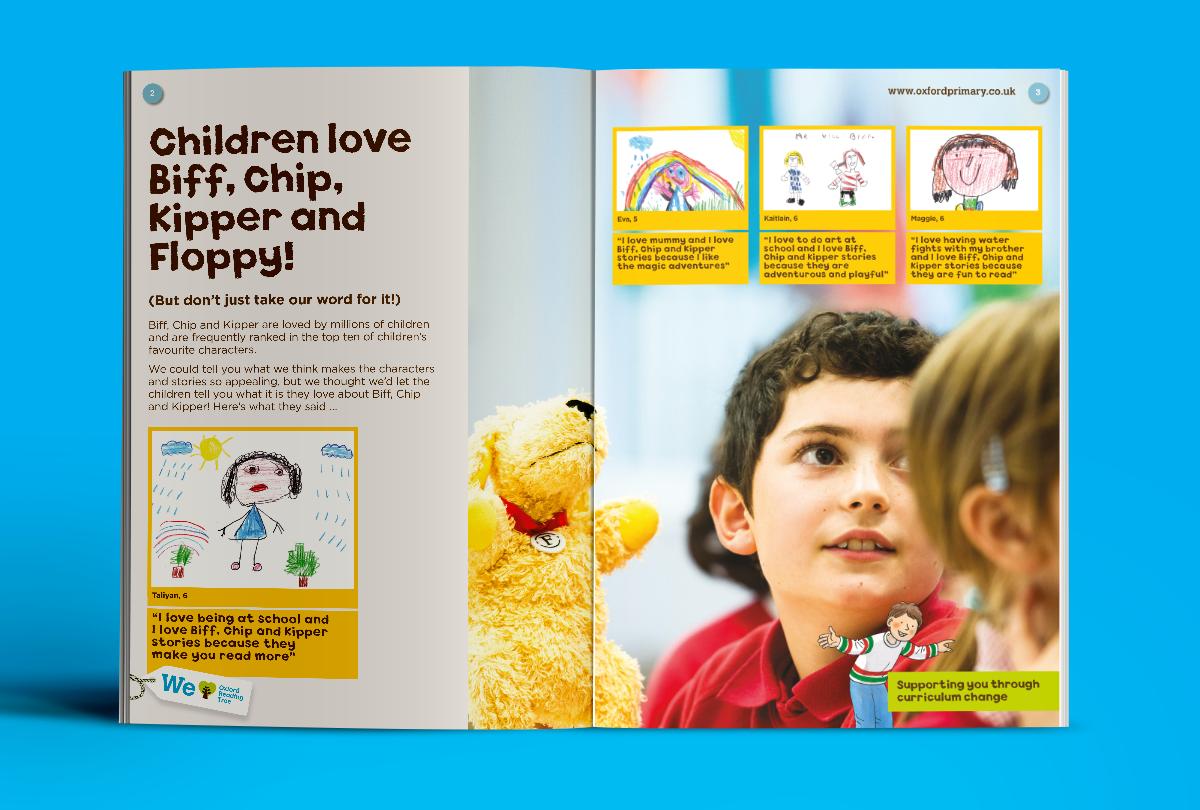 Educational brand brochure design