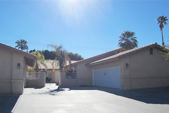 73805 Shadow Mountain palm desert CA 92260    4 units sold for $905,000