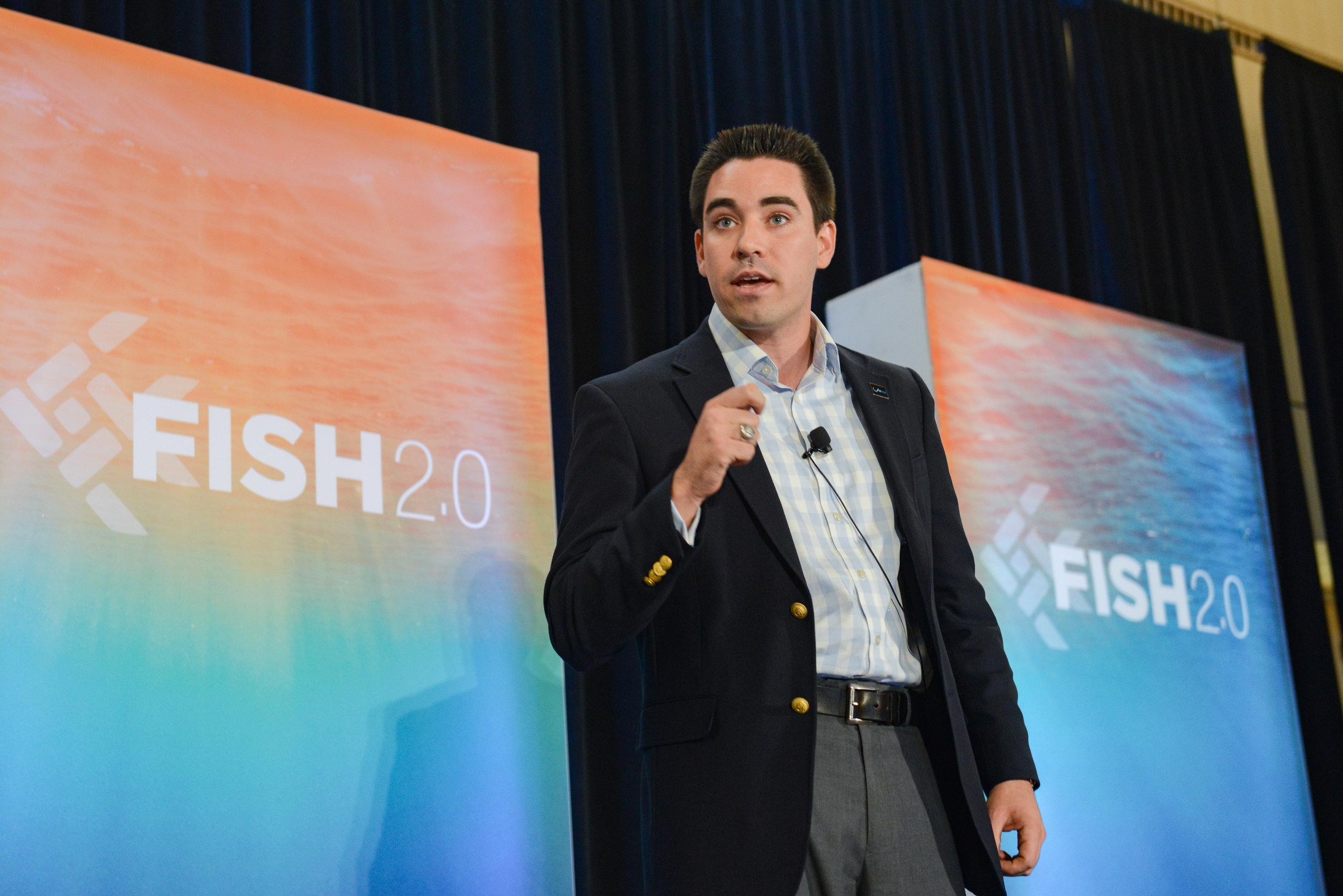 Matthew Merighi Pitches Blue Water Metrics at Fish 2.0 Finals - Blue Water Metrics was one of 40 finalists
