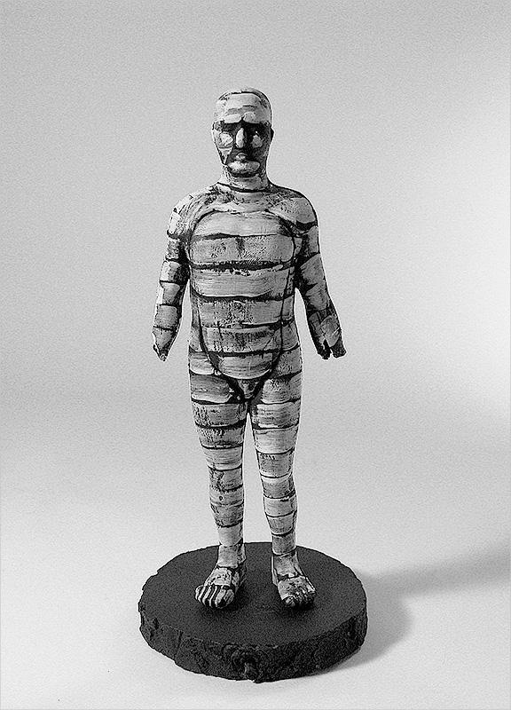 "Untitled, acrylic / plastic / wood, 8'X4"", 2006"