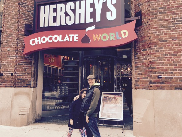 Keep in mind for the chocolate-lover in your life. A 5 lb. Hershey's bar can be yours for only $50.