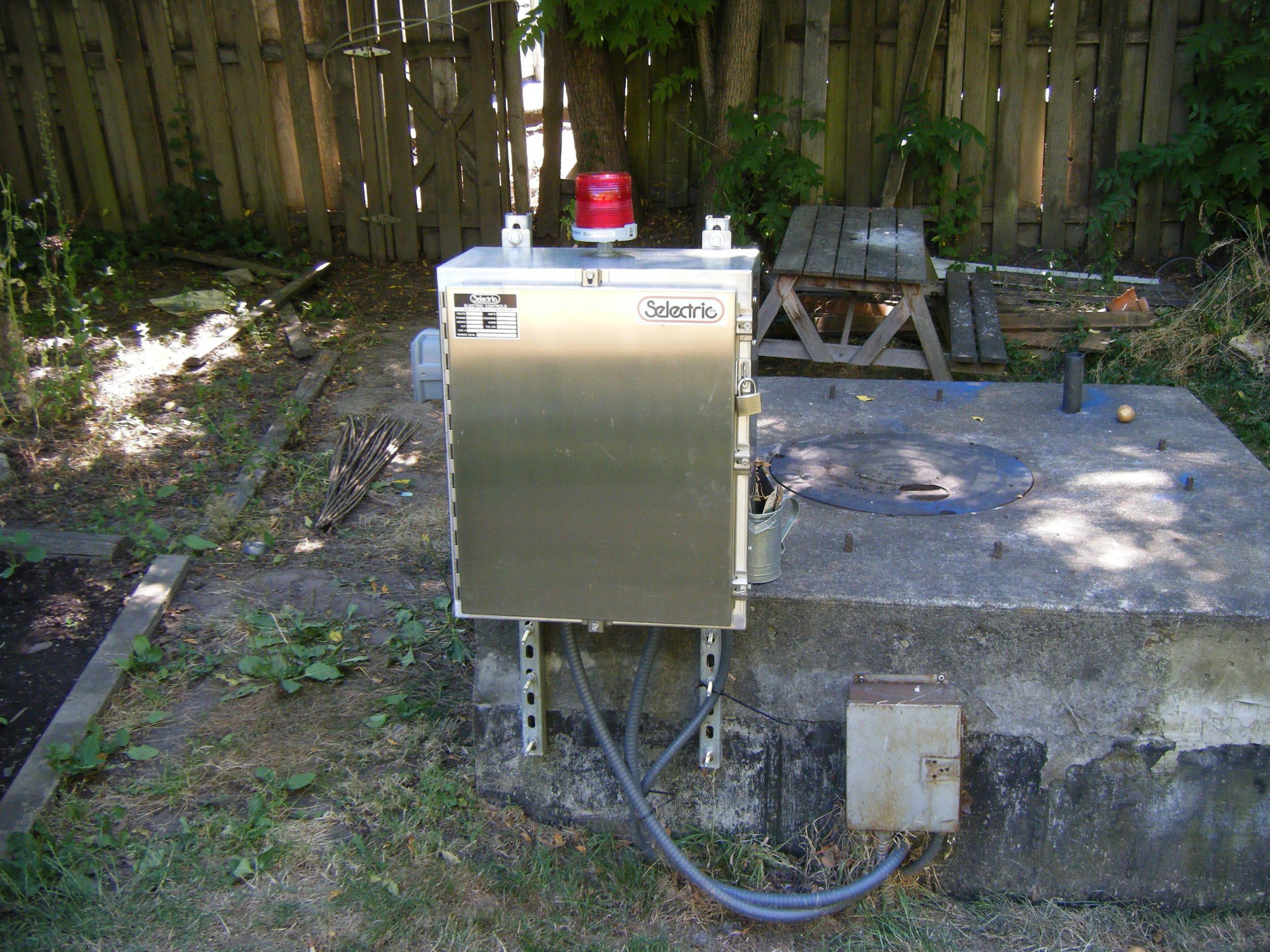 Lift Station Control Panel & Pump Repairs