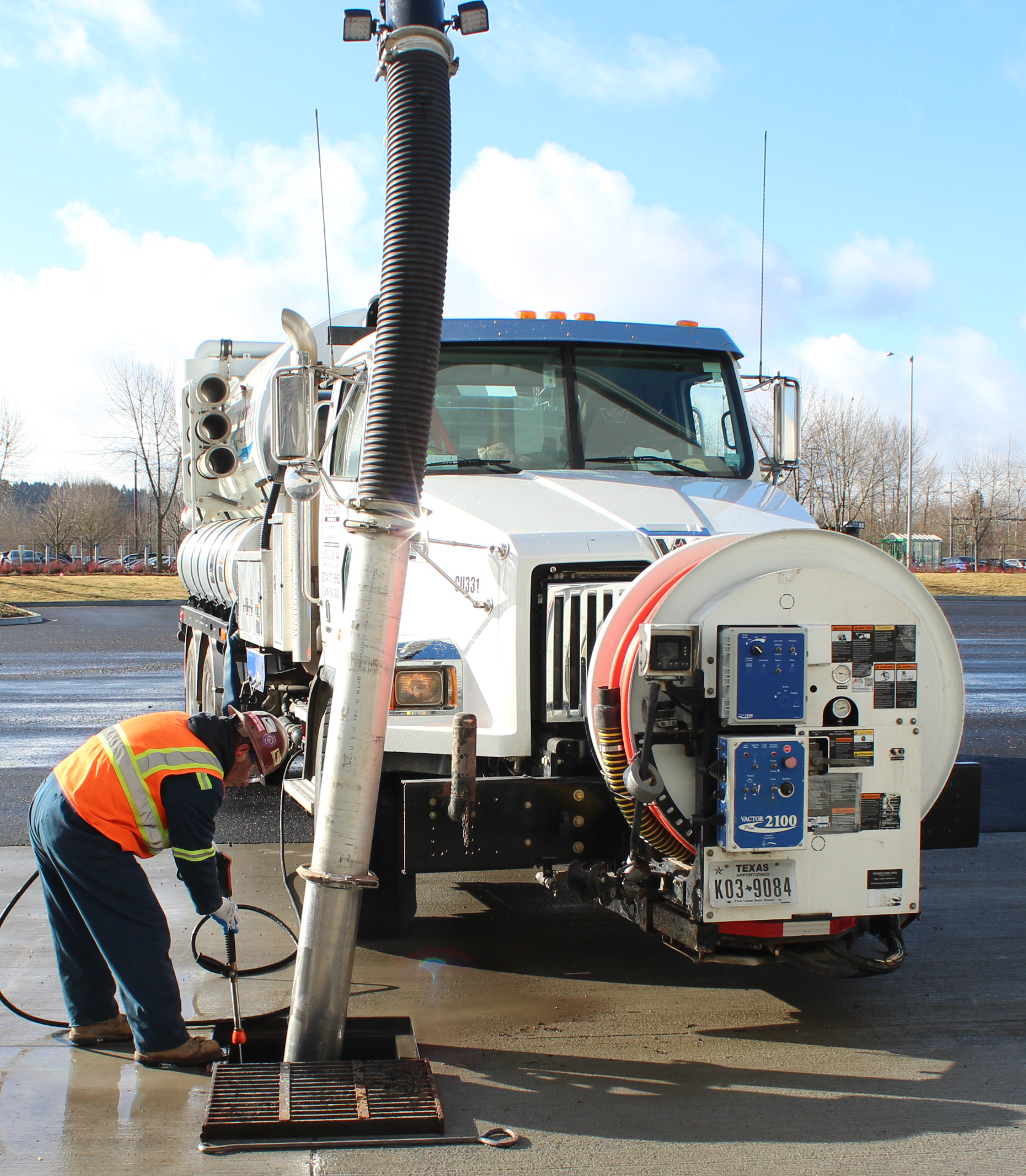 Sand, gravel, slurry, stormwater or sewer - we pump it, we jet it