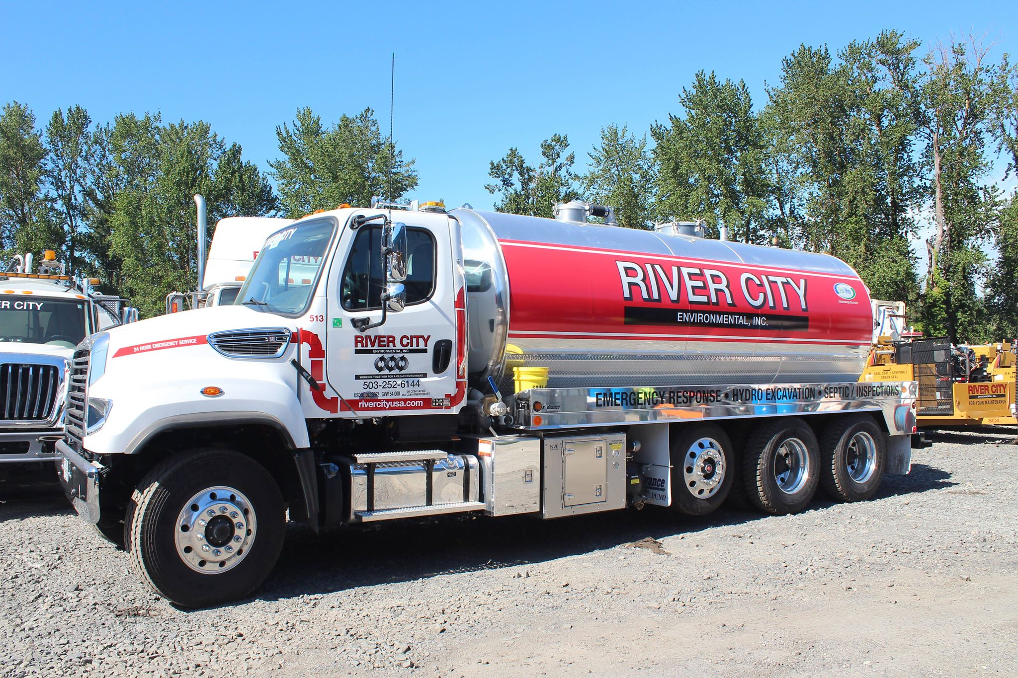 Water Truck services are available 24/7