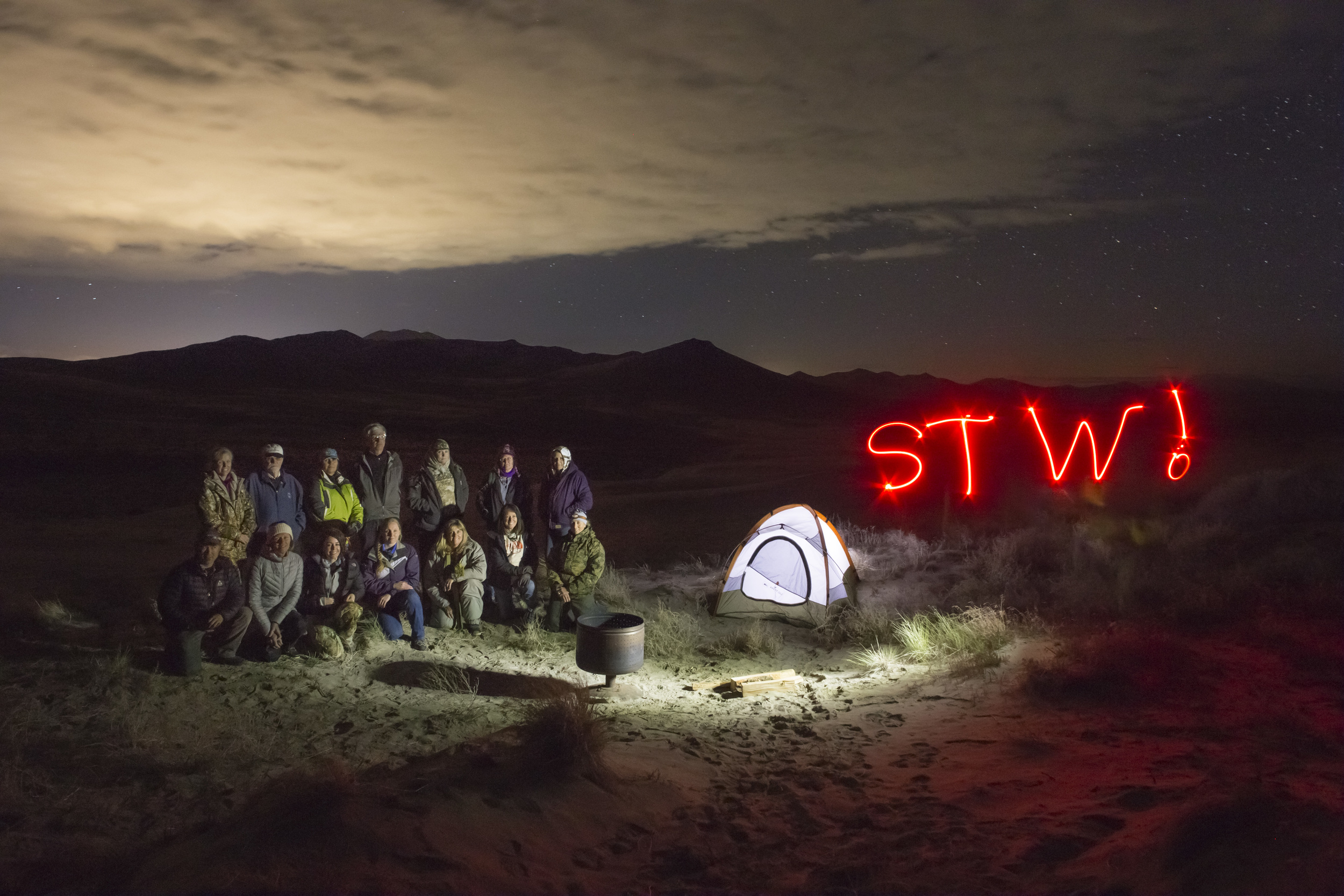 My Landscape Astrophotography class at the 2016 Shooting the West Photography Symposium