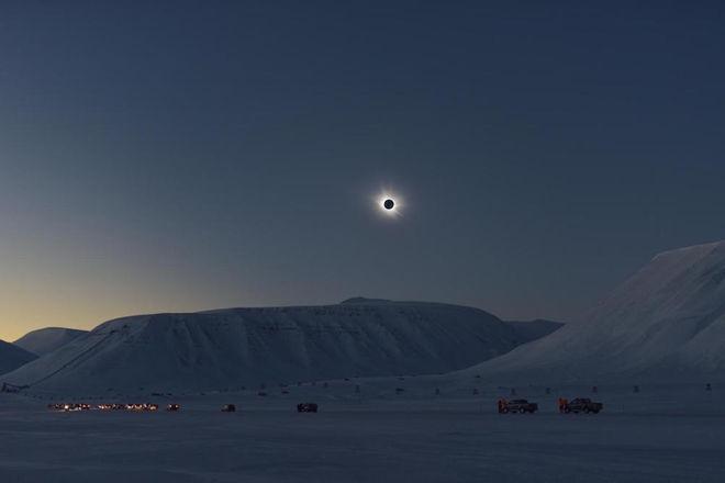 Eclipse, Svalbard, Dr. Miloslav Druckmüller