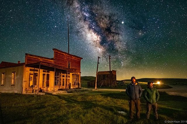 @mkokimoto and I wrapped up another successful and extremely fun #astrophotography workshop in Bodie state park the night before last. Thanks to our awesome students for joining us and for the support and partnership of the @bodiefoundation and @castateparks! We still have two spots open for our next #nightphotography adventure in @tonopahminingpark in lovely @tonopahnevada at the @mizpahhotel August 22-25th. Details are on my website. #photography #night #milkyway #astrophotography #workshop #photoworkshop