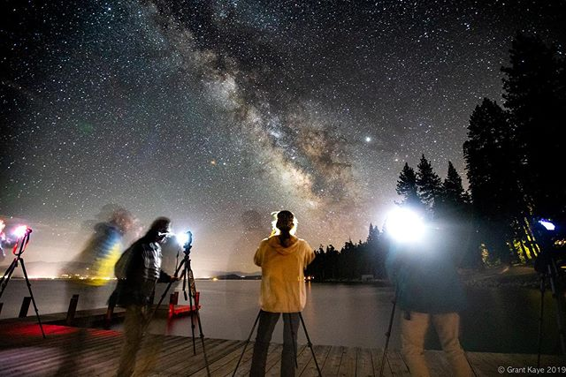 Can't beat the night skies in Truckee/Tahoe! This week I had two back to back Milky Way photography classes in Martis Valley and at Sugar Pine Point State Park, and a lot of happy students!There's really nothing better for me than sharing my love of shooting at night with folks new to the experience. Watching their faces light up when they see the backs of their cameras after their first successful MilkyWay frame is a true delight. Thanks to my partners @ateliertruckee @sierrastateparks_ @castateparks @castateparkstahoe @aegisinsurancemarkets @usacesacramento @usacehq for helping me make these classes happen. If you are interested in learning how to shoot at night, I'd love to show you! #night #nightphotography #astrophotography #milkyway #science #stars #sky #photographyworkshop @visittruckee @visittahoecity @visitplacer