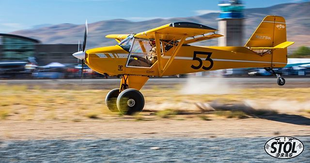 "Last week brought an amazingly fun few days at the @renoairraces with @stolpilot and the @stoldrag crew! So much fun watching these skilled aviators race head to head on the dirt at KRTS. Congrats on your official acceptance as the first new racing class in over 20 years! ""Ready? Set? SEEYA!"" #airplanes #aviation #dragracing #stol #backcountry #flying"