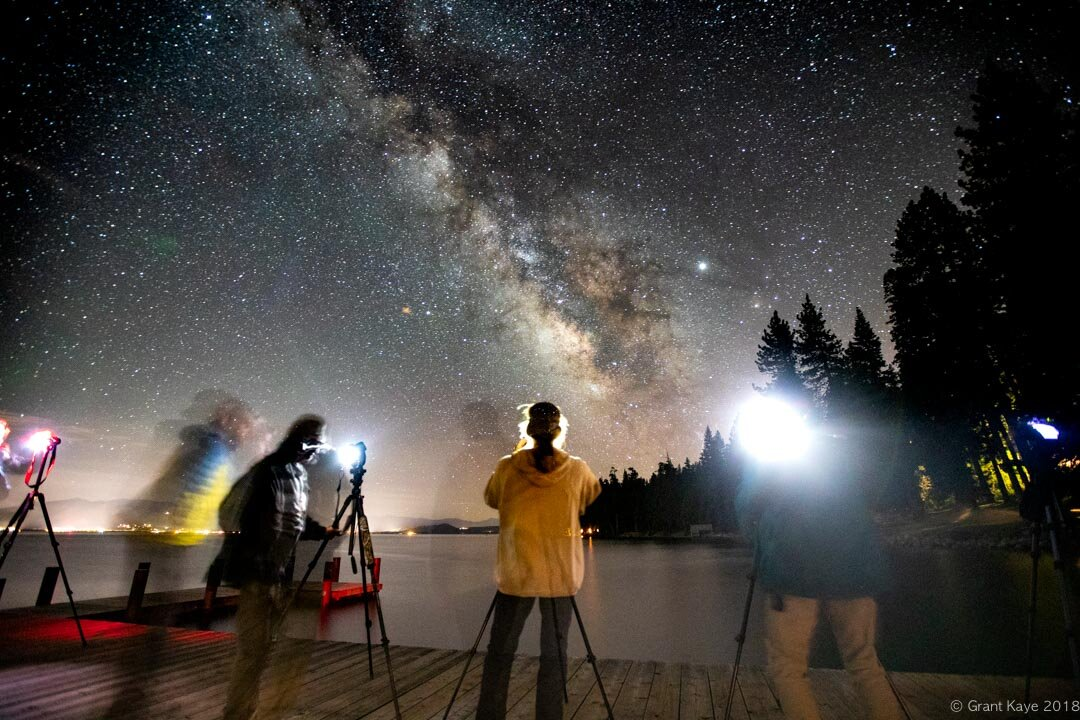 Sugar Pine Point Milky Way Class, July 2019