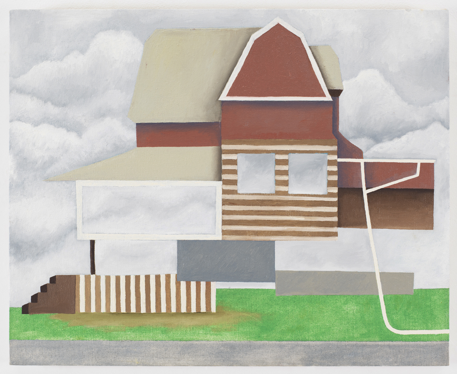 Morse, 2005, Oil on canvas, 18 x 22 inches
