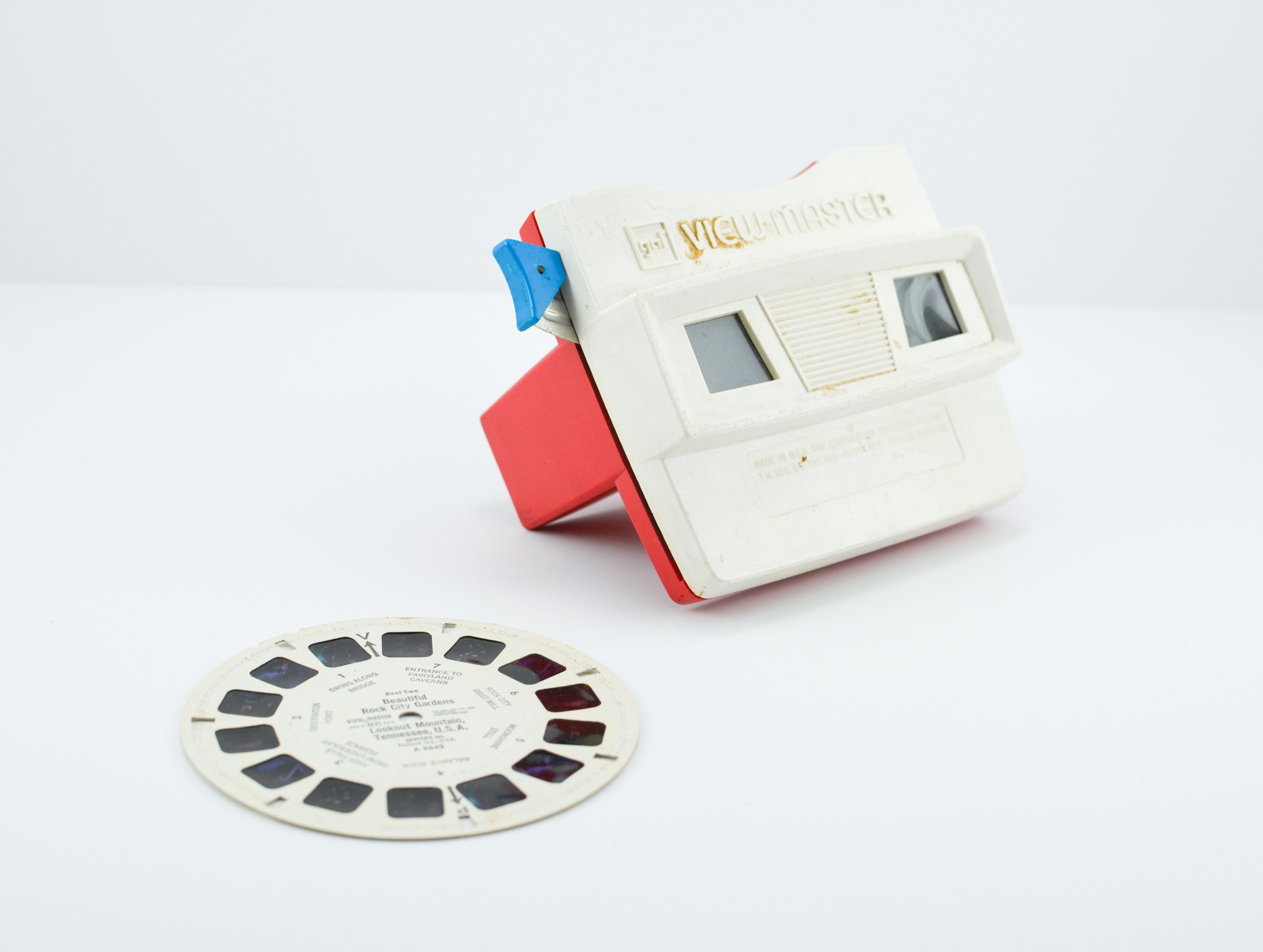 Christopher Provenzano,  View-Master with Reel