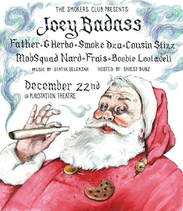 The Smokers Club Christmas Concert