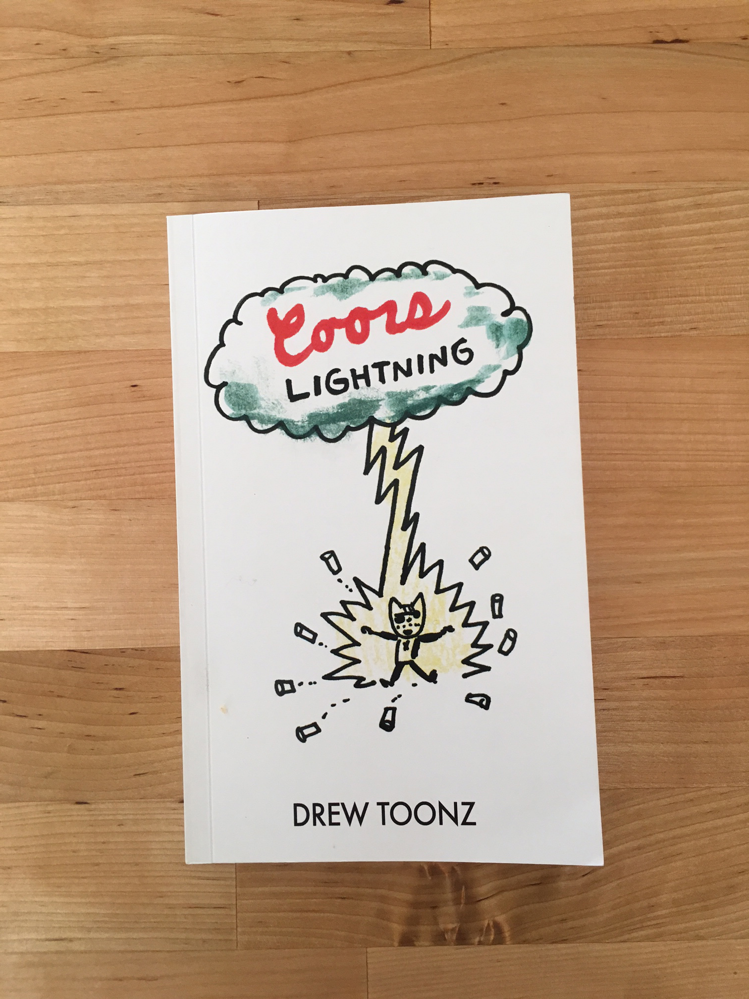 Coors Lightning by Drew Toonz