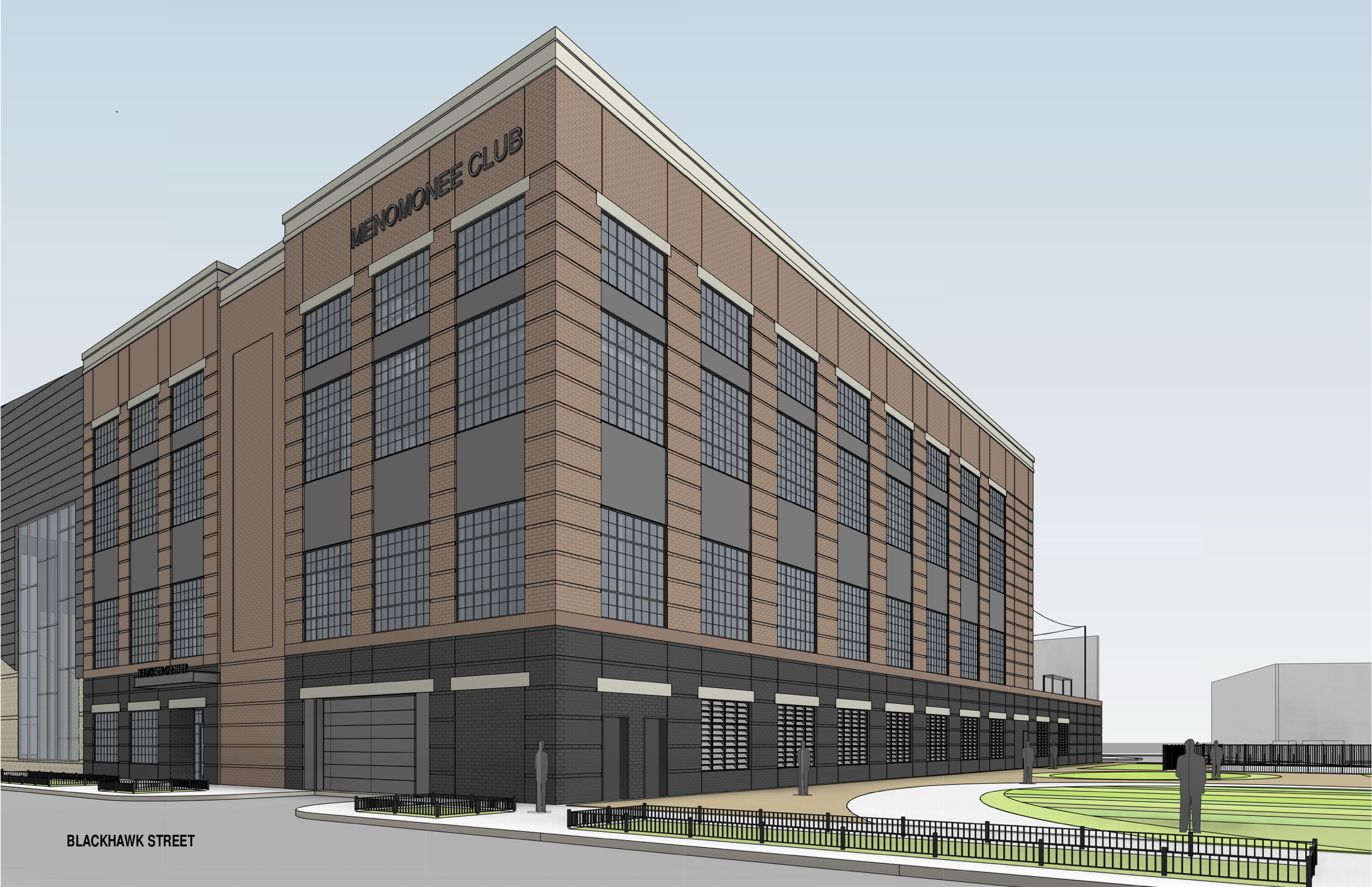 Proposed Menomonee Club building