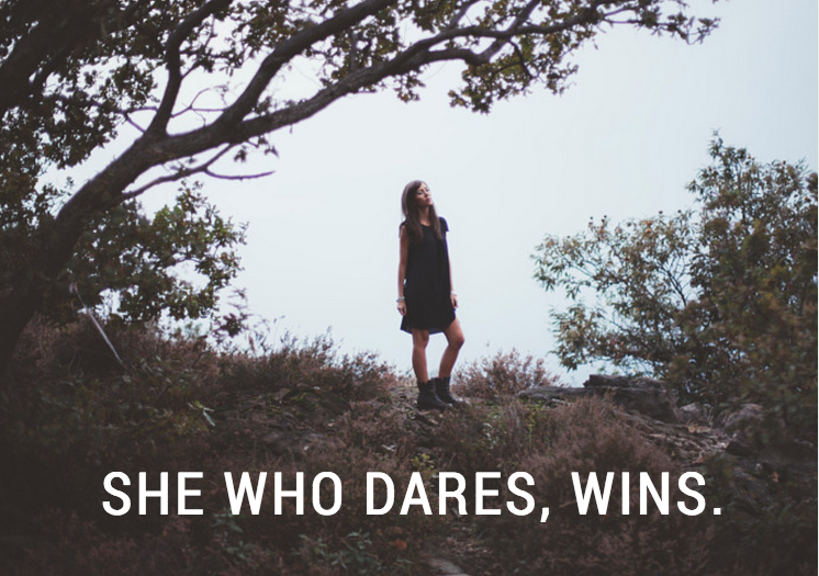 She's Who Dares, Wins