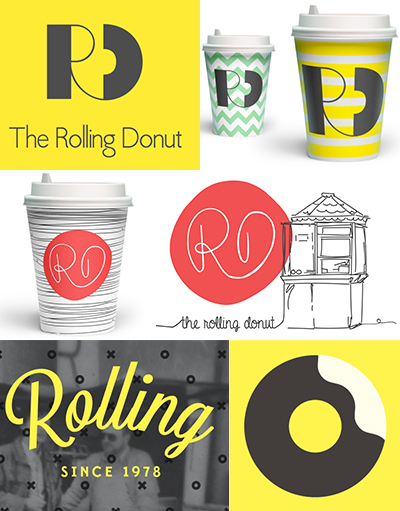 The Rolling Donut Brand Evolution