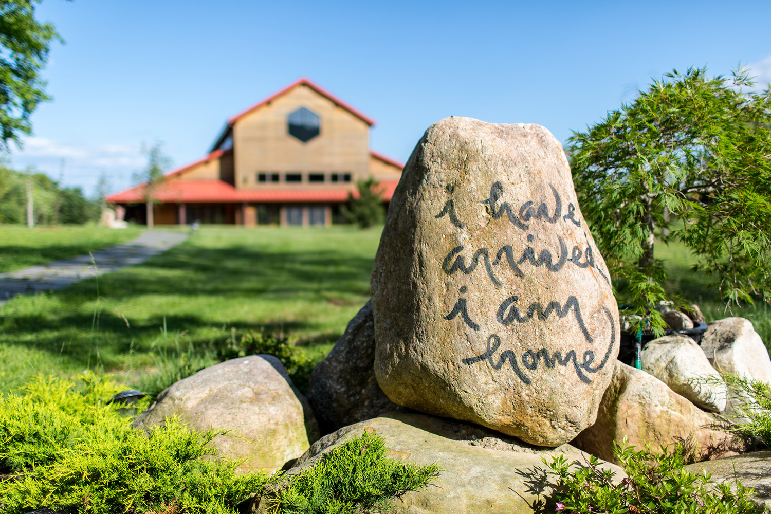 Blue Cliff Monastery - Nestled on 80 acres of beautiful woodland in the Shawangunk Mountains, Blue Cliff is located south of the Catskills and just two hours from New York City.Learn More