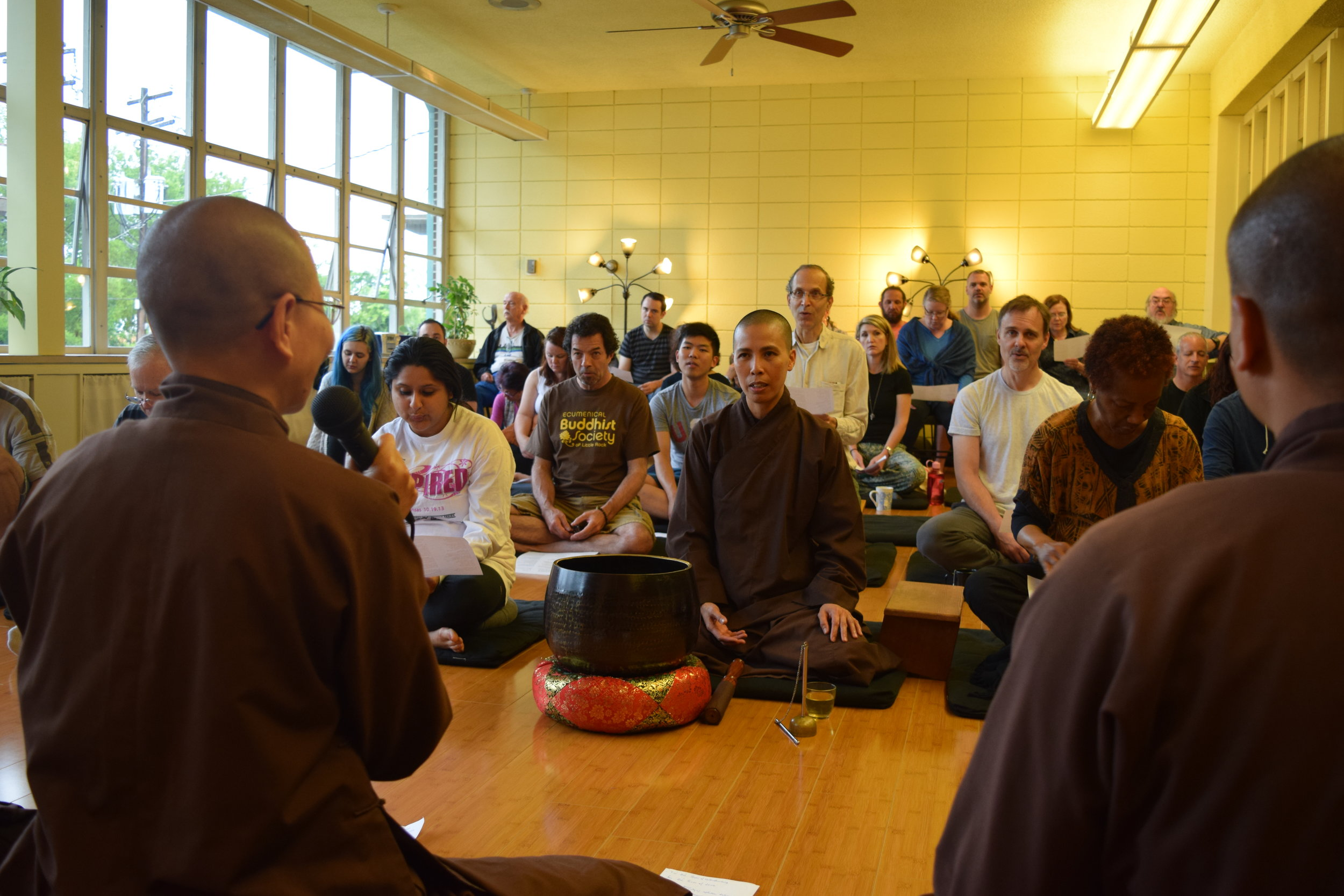 River Valley Sangha Day of Mindfulness - River Valley Sangha used grant funding to bring Dharma teachers to host a Day of Mindfulness in Little Rock, Arkansas.