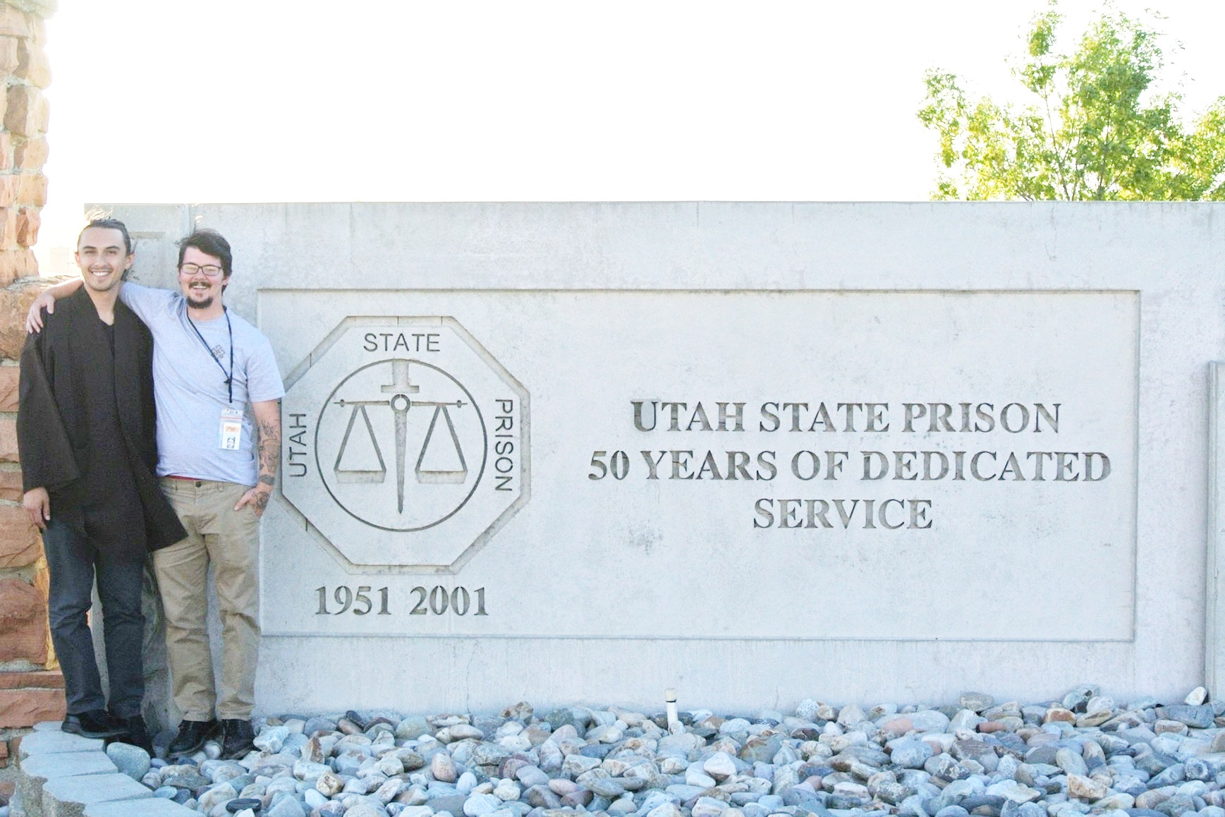 Utah State Prison Dharma Project - Wake Up Salt Lake City brought mindfulness into the Utah State Prison and transmitted the Five Mindfulness Trainings to four inmates.
