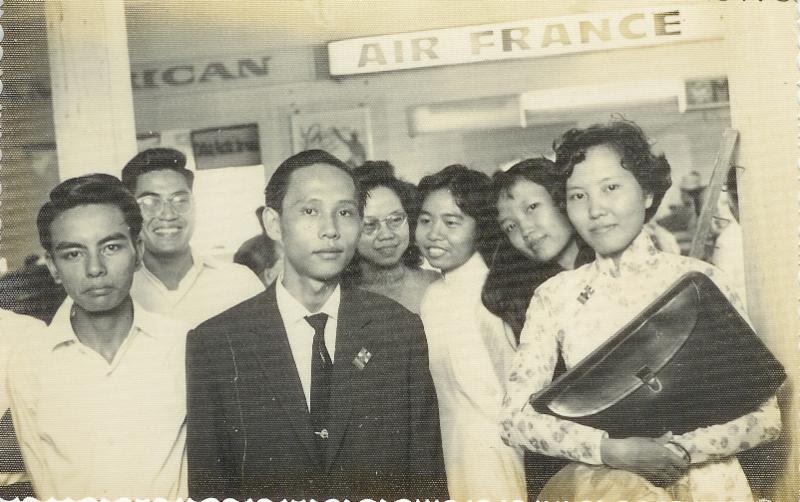Some of Thay's original Cedars, including Sister Chan Khong
