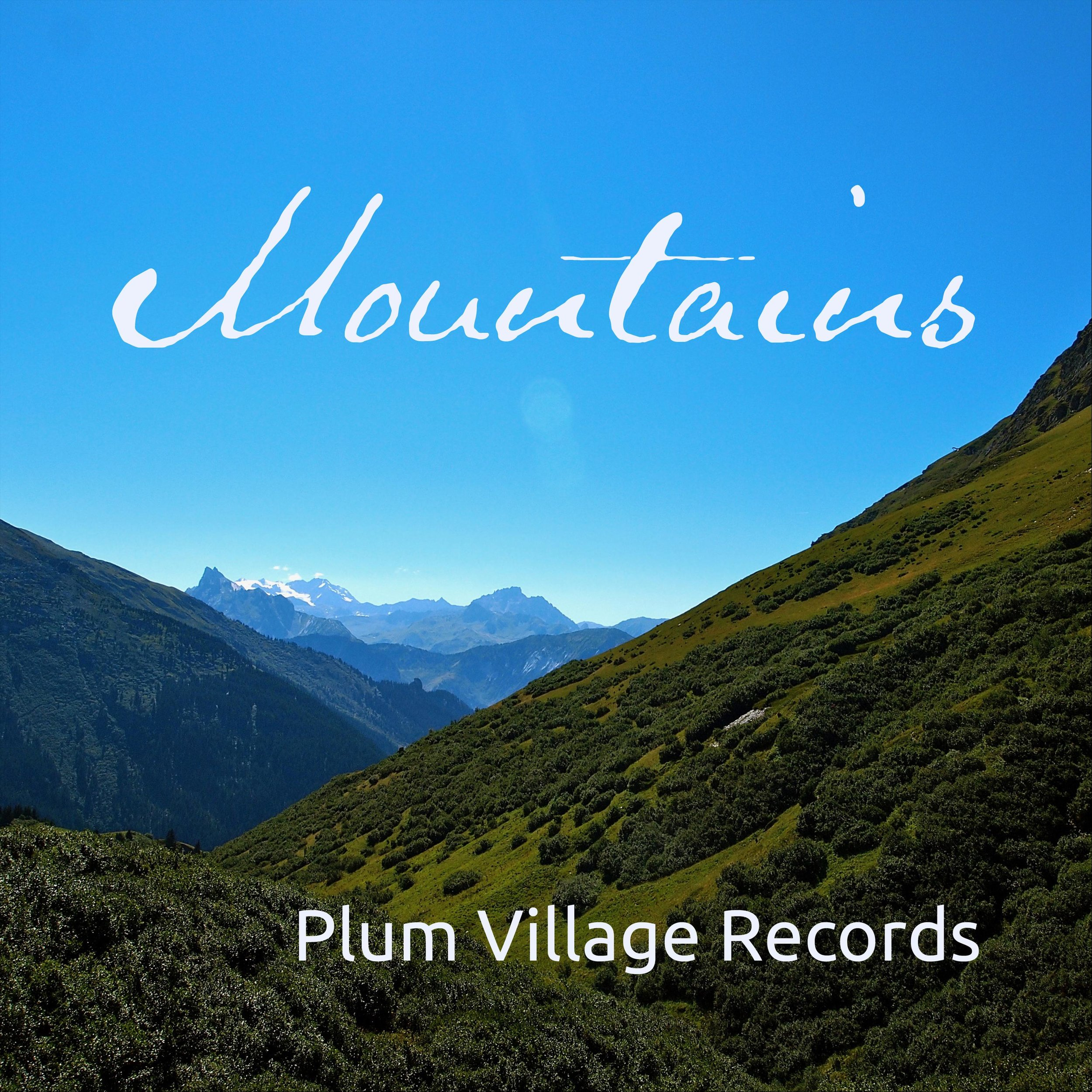 """Mountains - Mountains is a collections of songs from the many-fold Sangha in a variety of styles including """"Joy,"""" """"I Love Nature,"""" and """"Peacefully Free."""