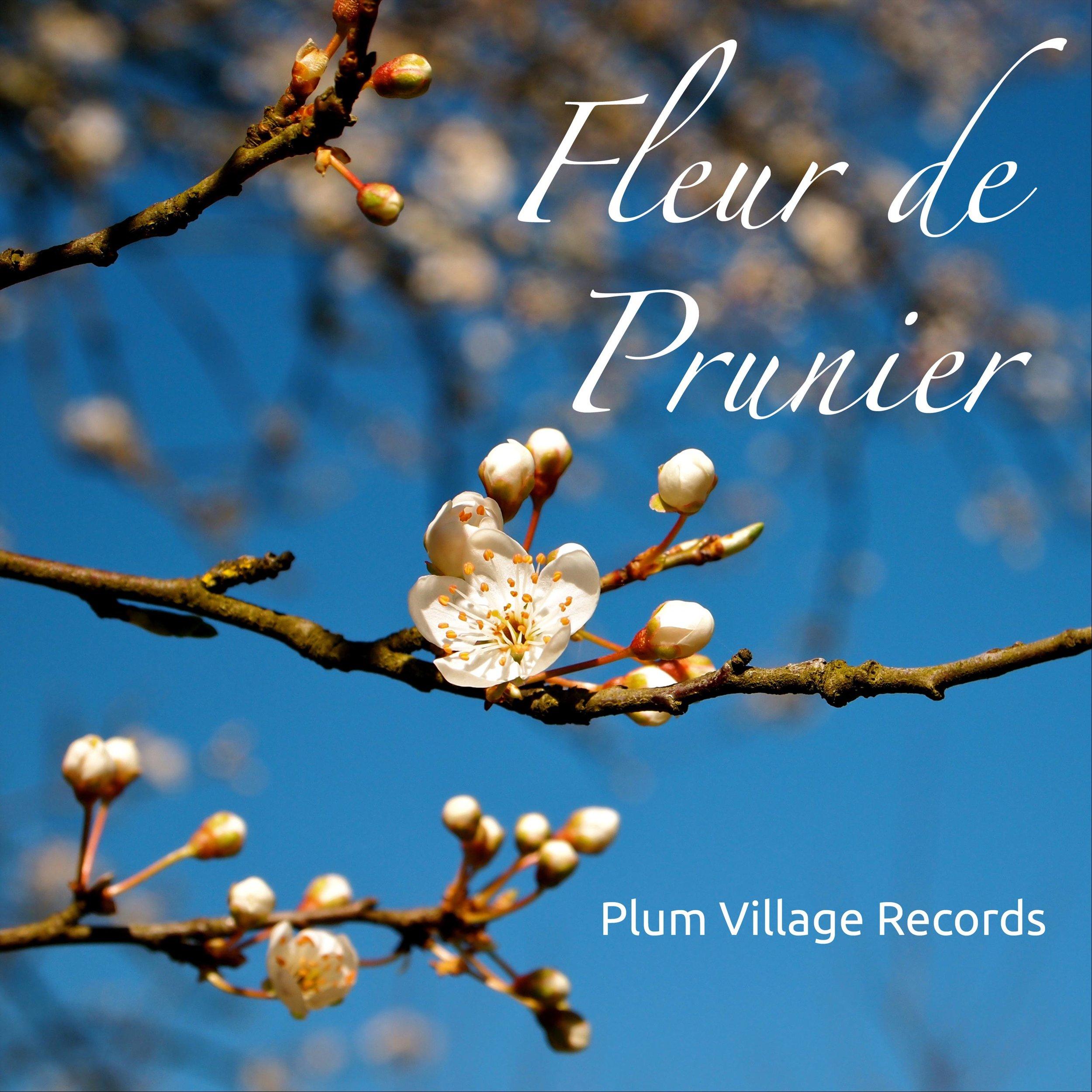 """Fleur de Prunier - Fleur de Prunier is a collection of music in French including """"Sans Venir, Sans Partir,"""" """"Je Sues Chez Moi,"""" and """"Mon Ile Interieur.""""Also available on iTunes"""