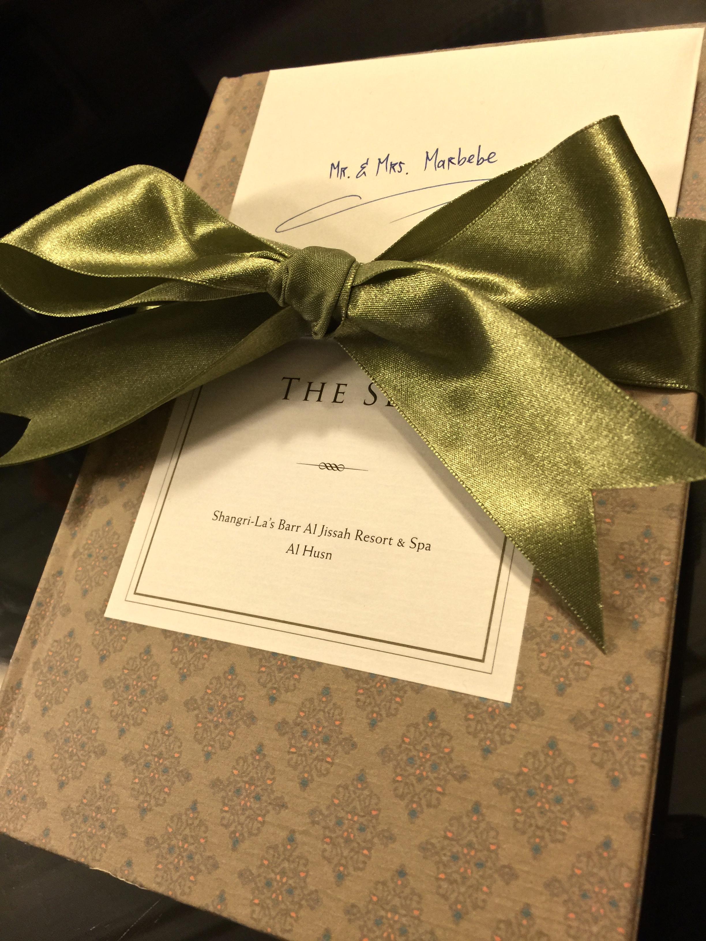 Welcome Gift (Shangri-La Muscat)