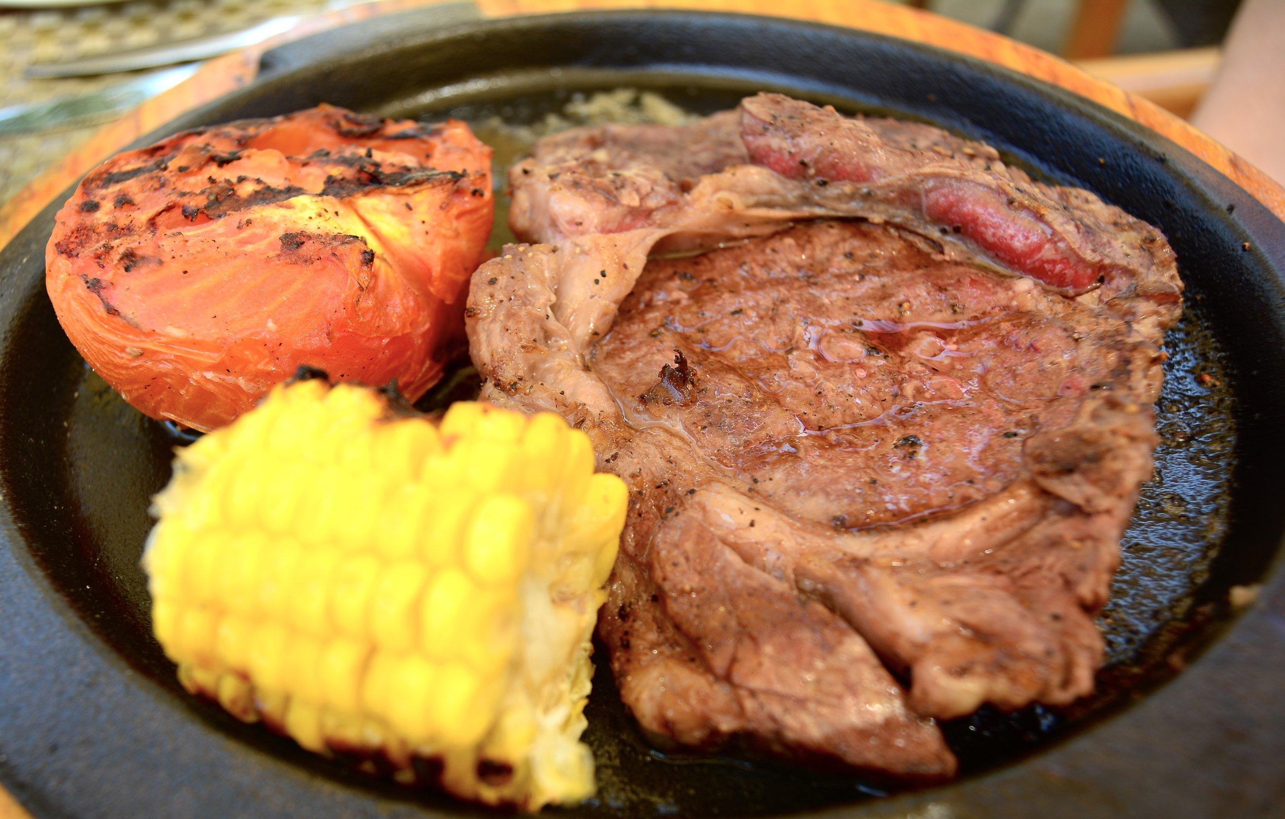 Beef Steak (Shangri-La Muscat)