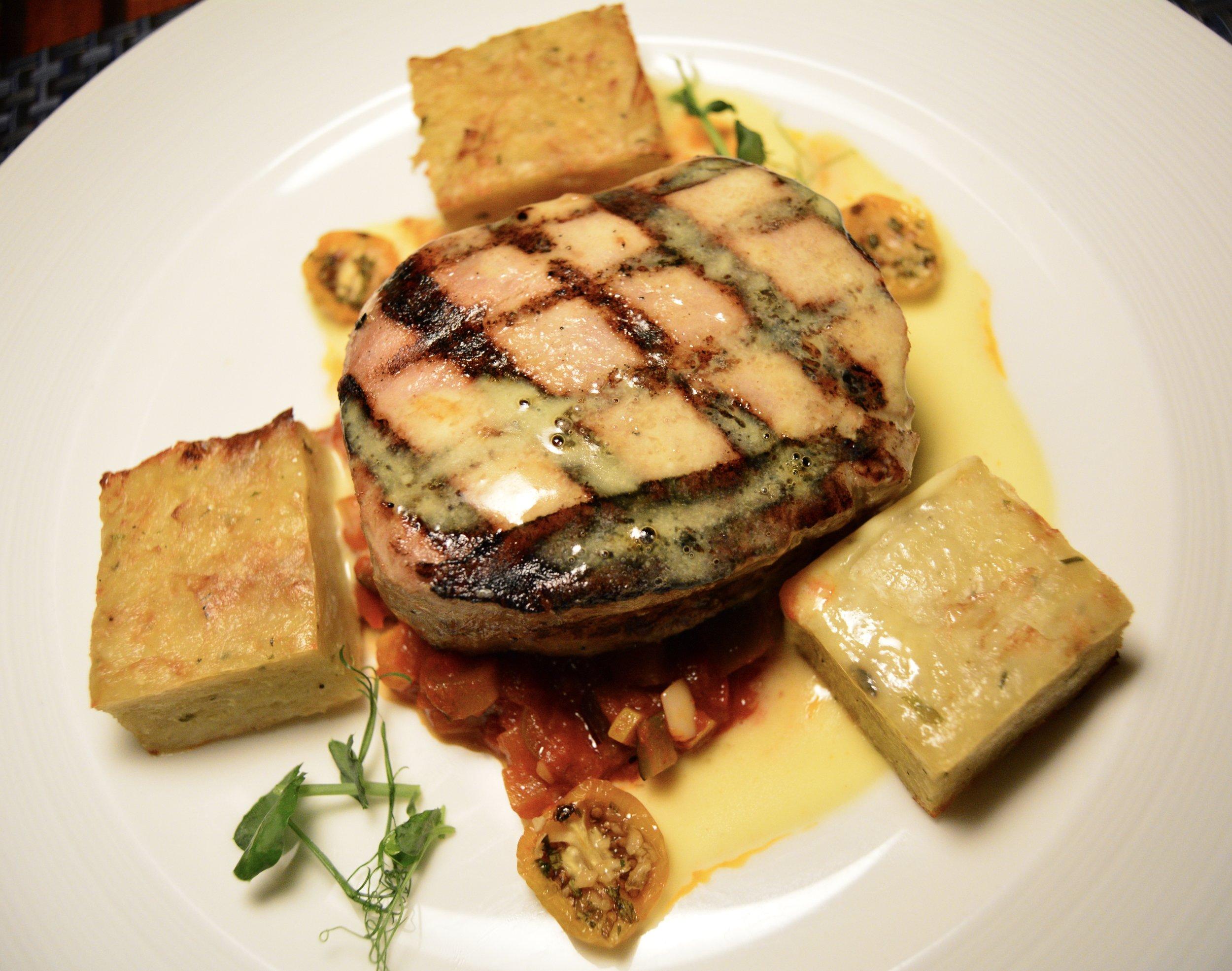 Grilled Tuna with Potato Rosti (Shangri-La Muscat)
