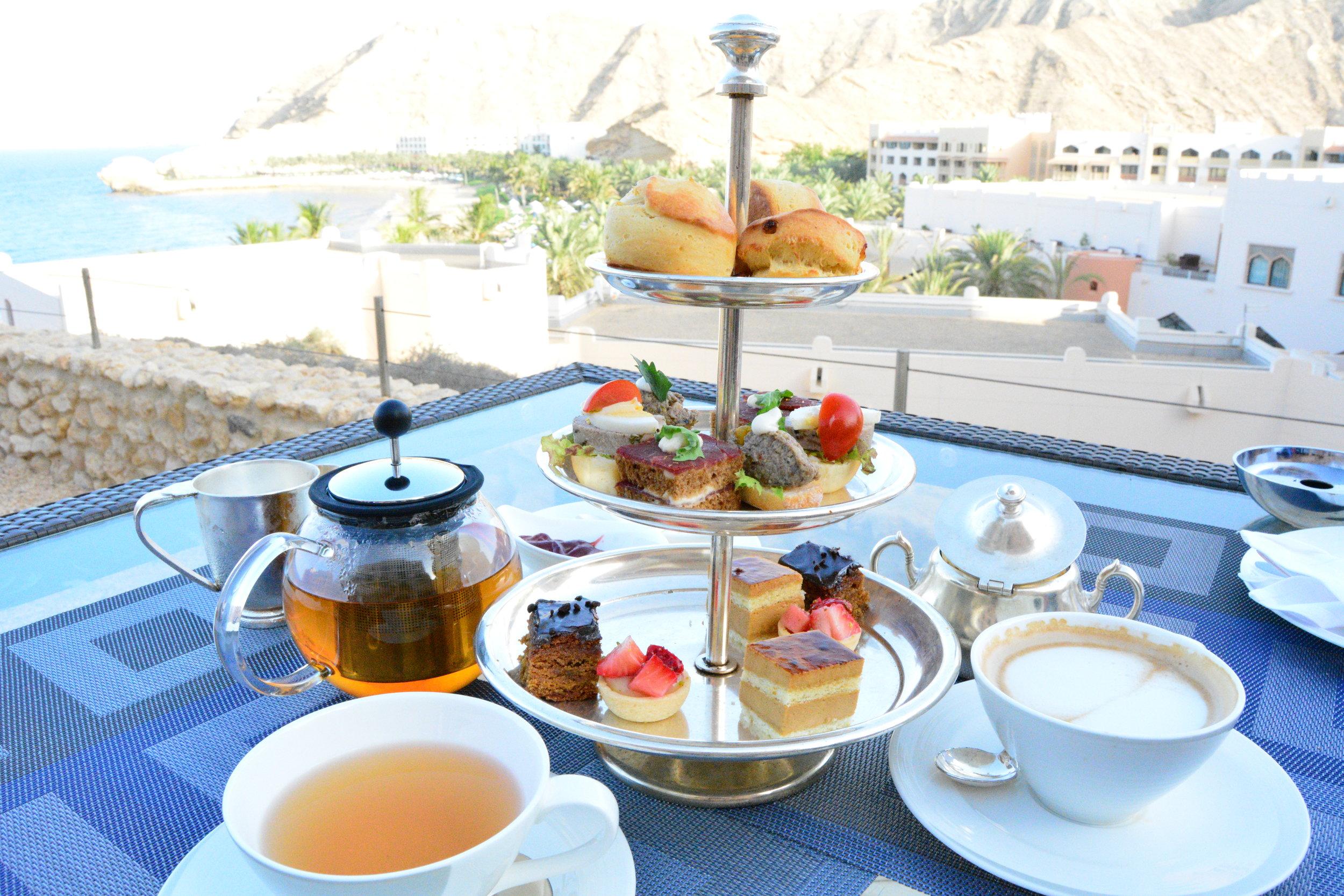 Al Husn - Afternoon Tea (Shangri-La Muscat)