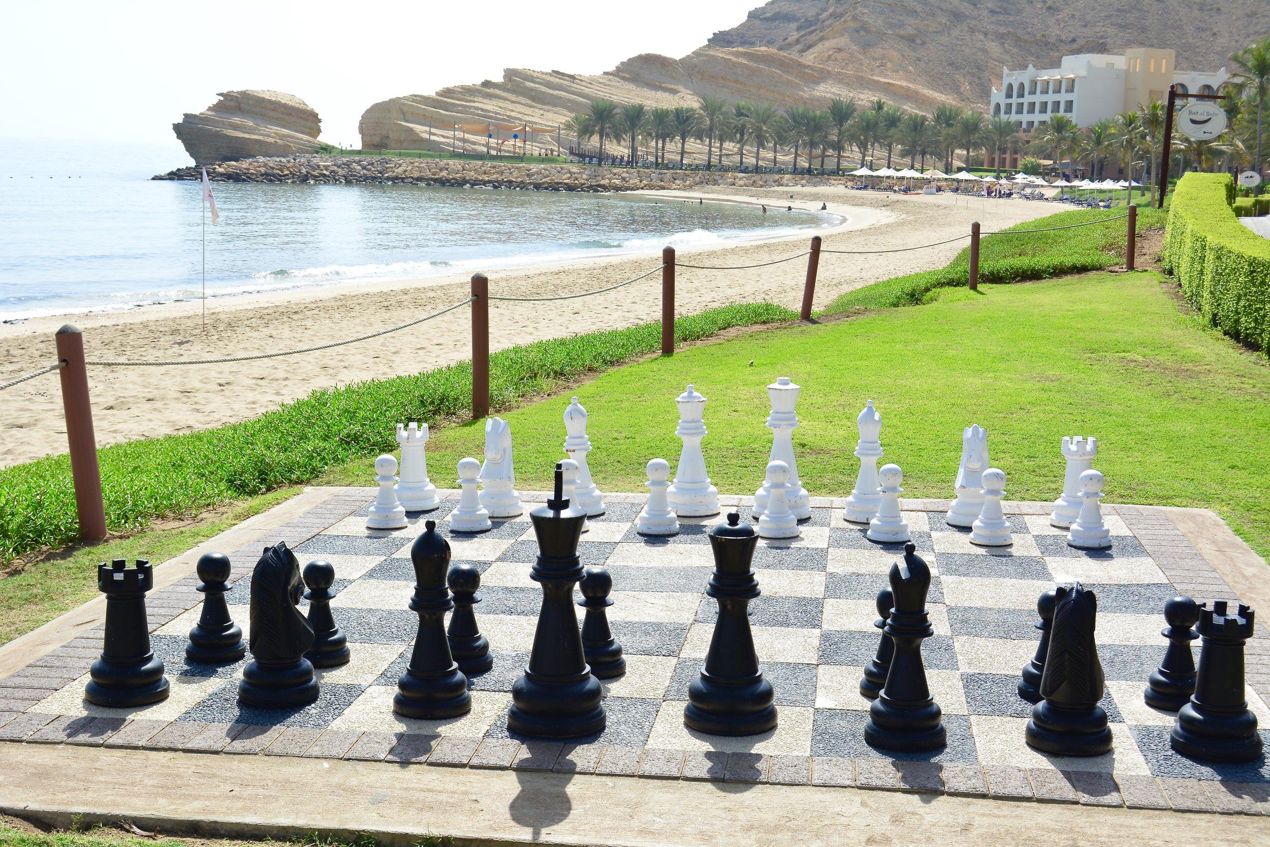 Al Bandar - Giant Chess Board (Shangri-La Muscat)