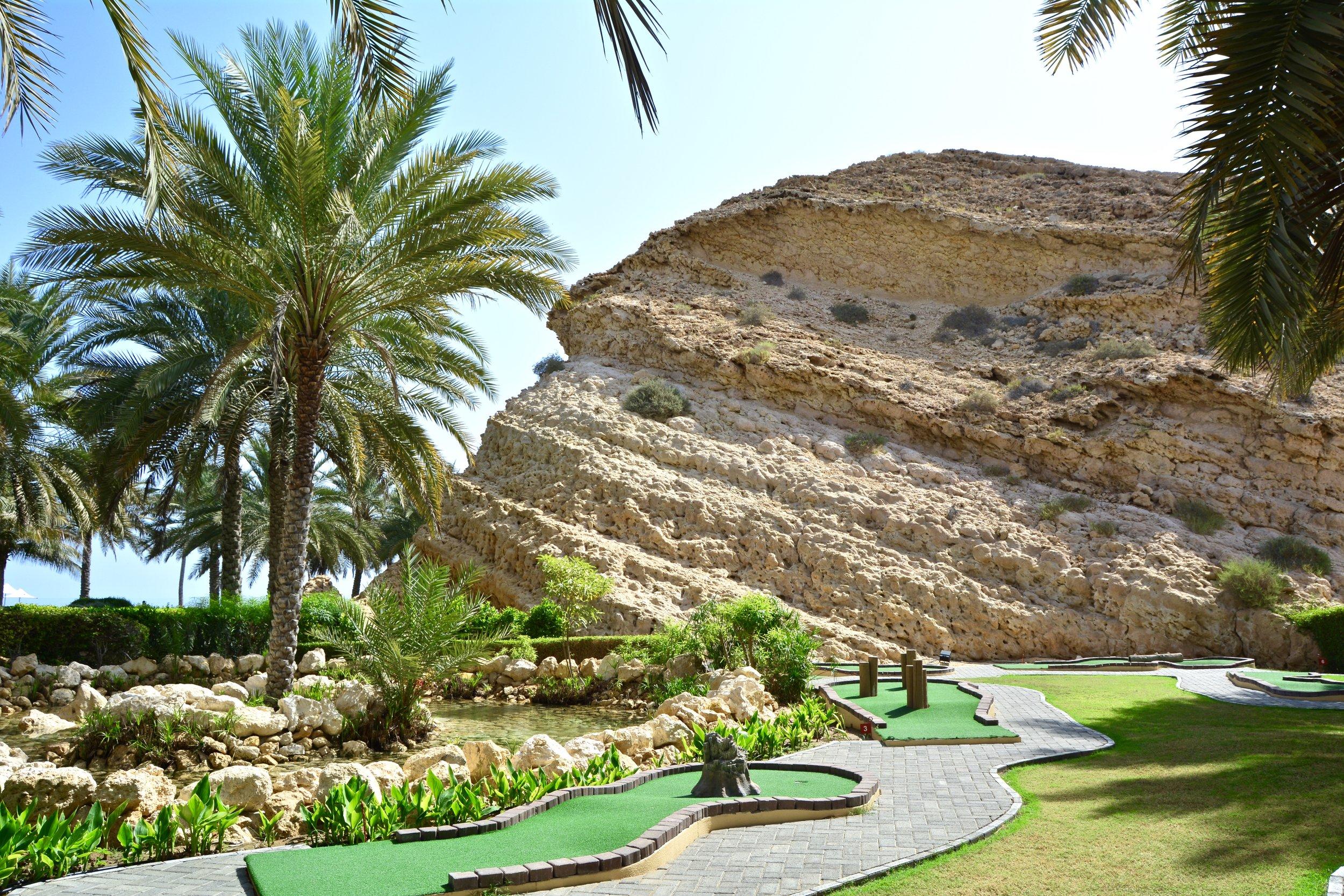 Al Bandar - Mini Golf Course (Shangri-La Muscat)