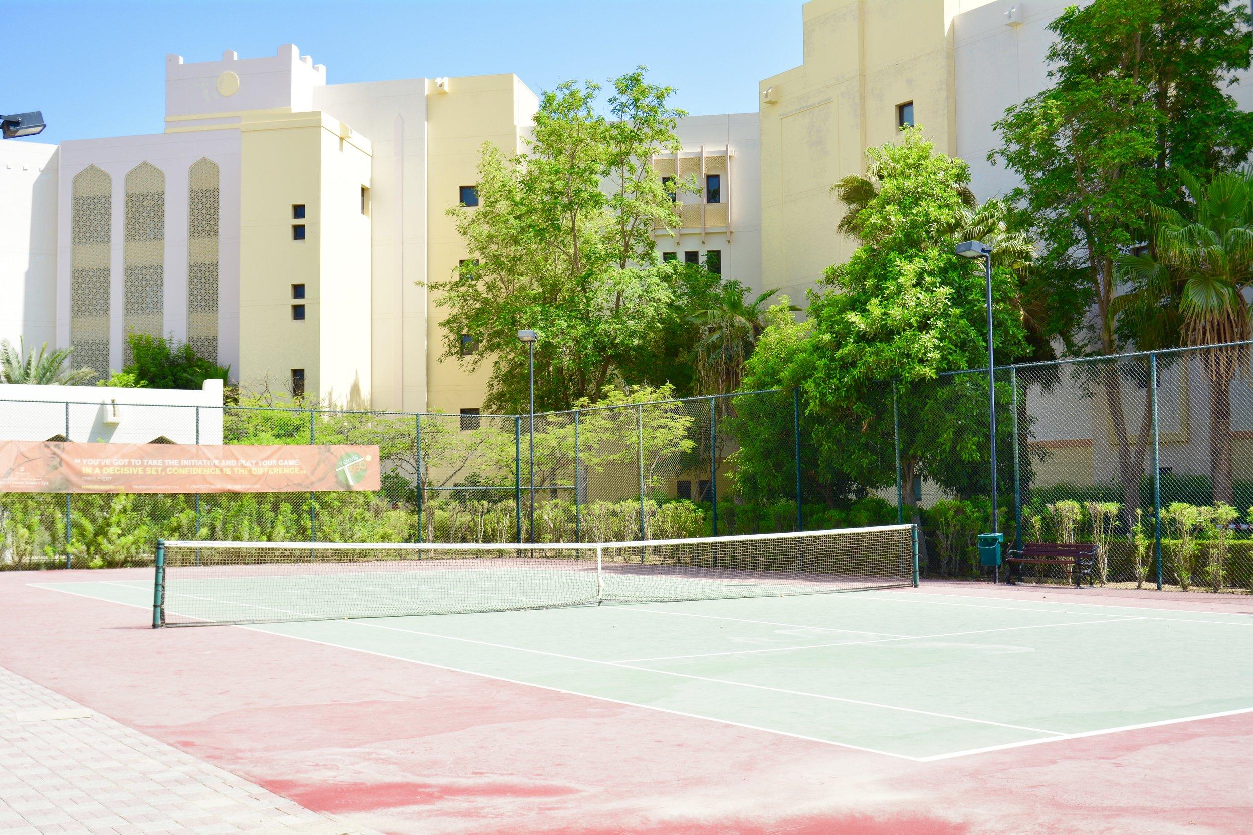 Al Bandar - Tennis Court (Shangri-La Muscat)