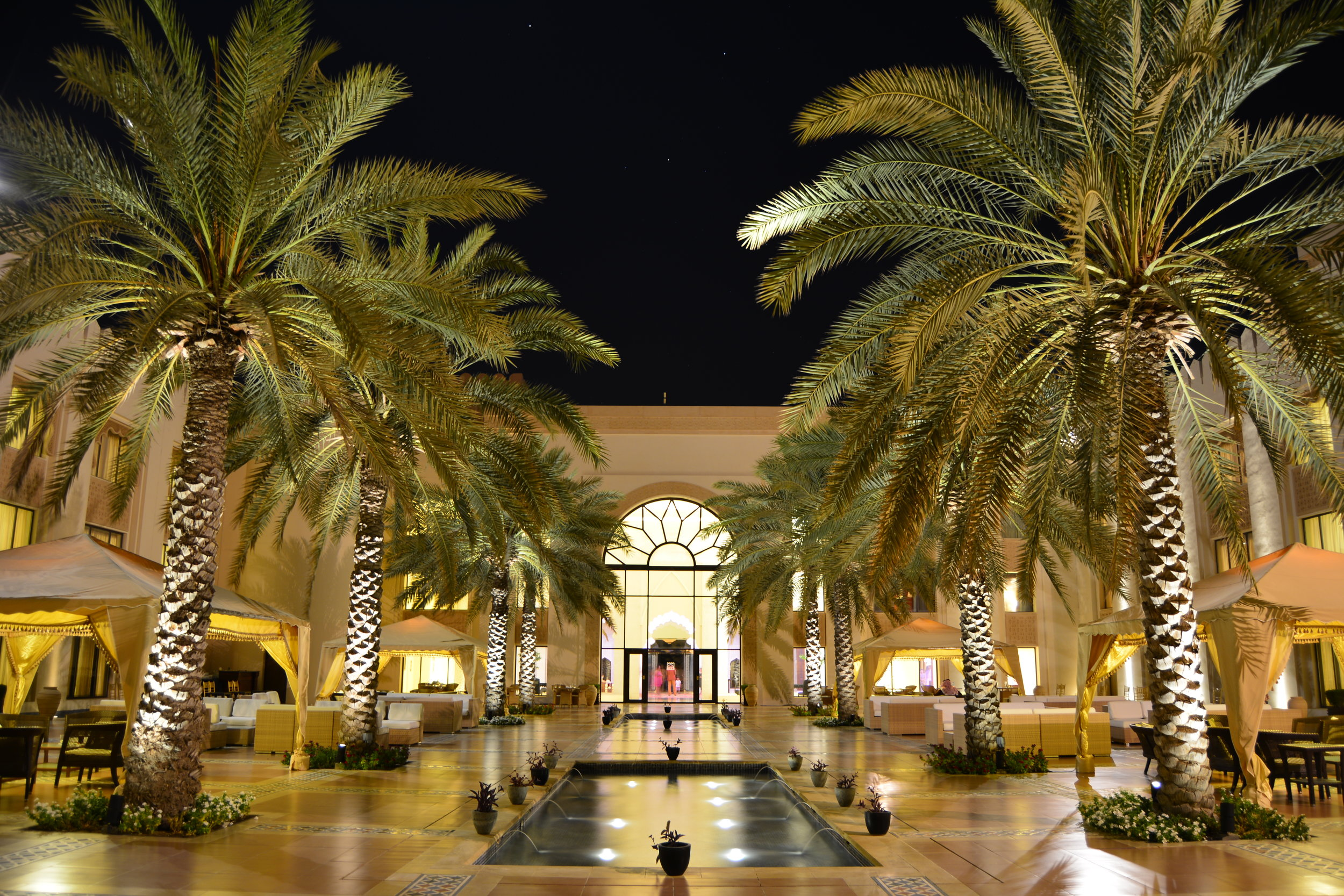 Al Husn - Courtyard at Night