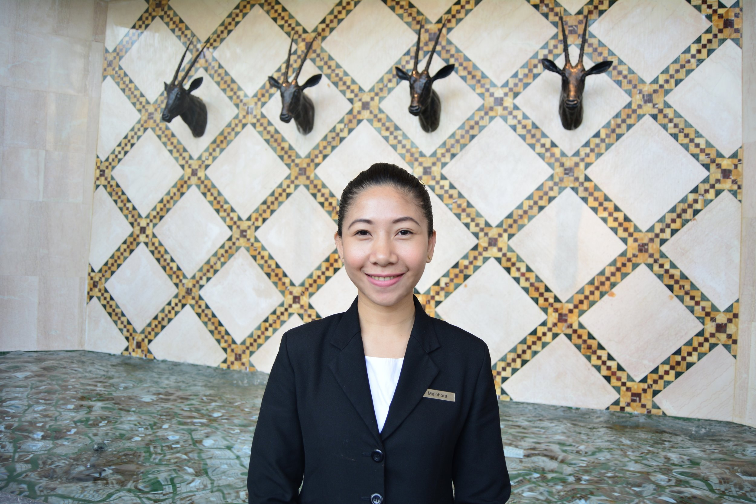 Ms. Melchora - Mokha Cafe Manager