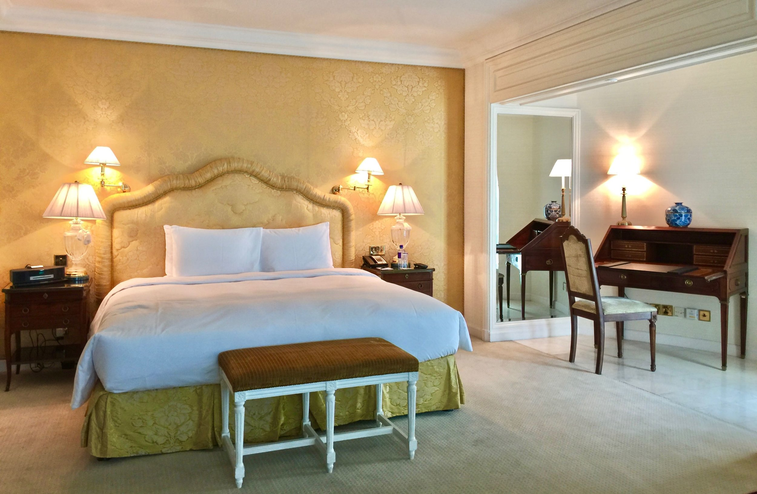Diplomatic Suite - Bedroom (The Ritz-Carlton, Bahrain)