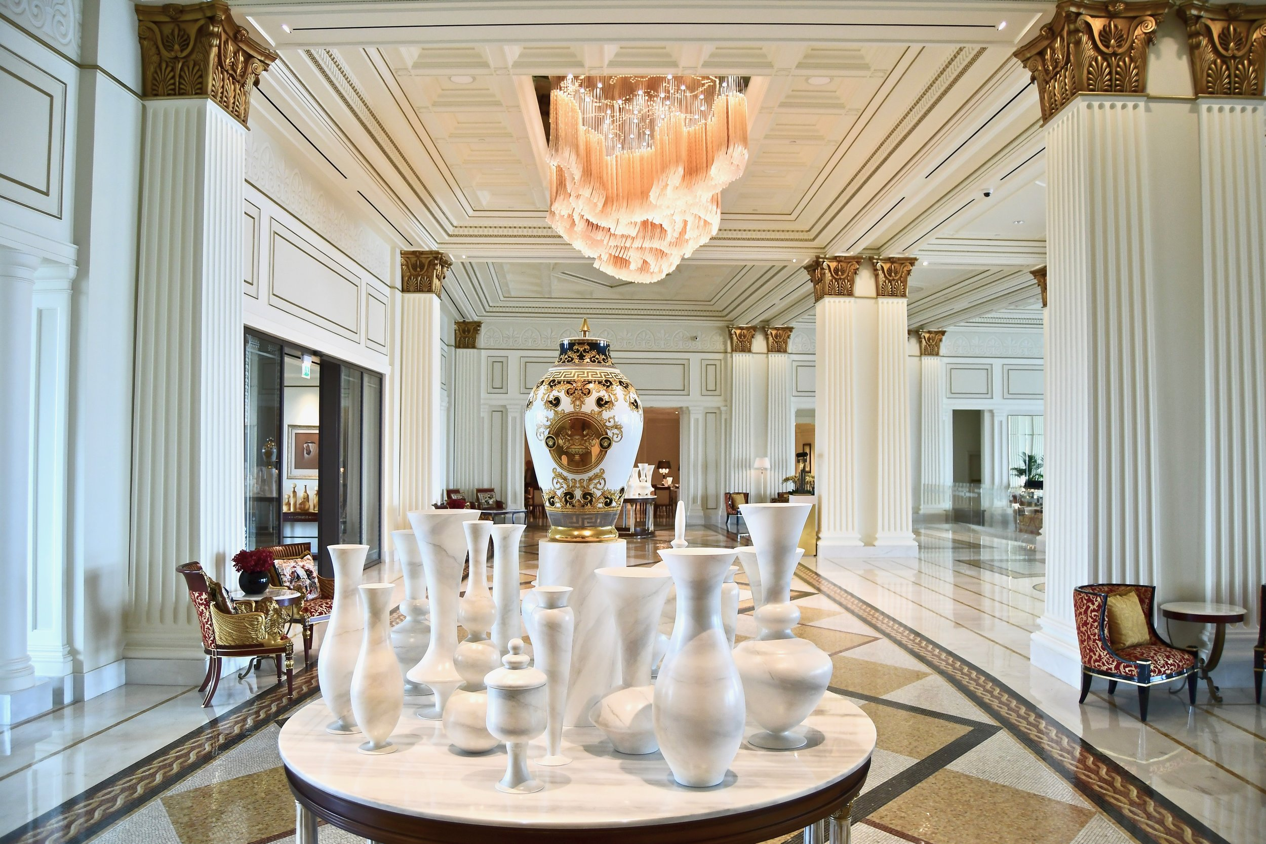 Hotel Lobby (Palazzo Versace Dubai)