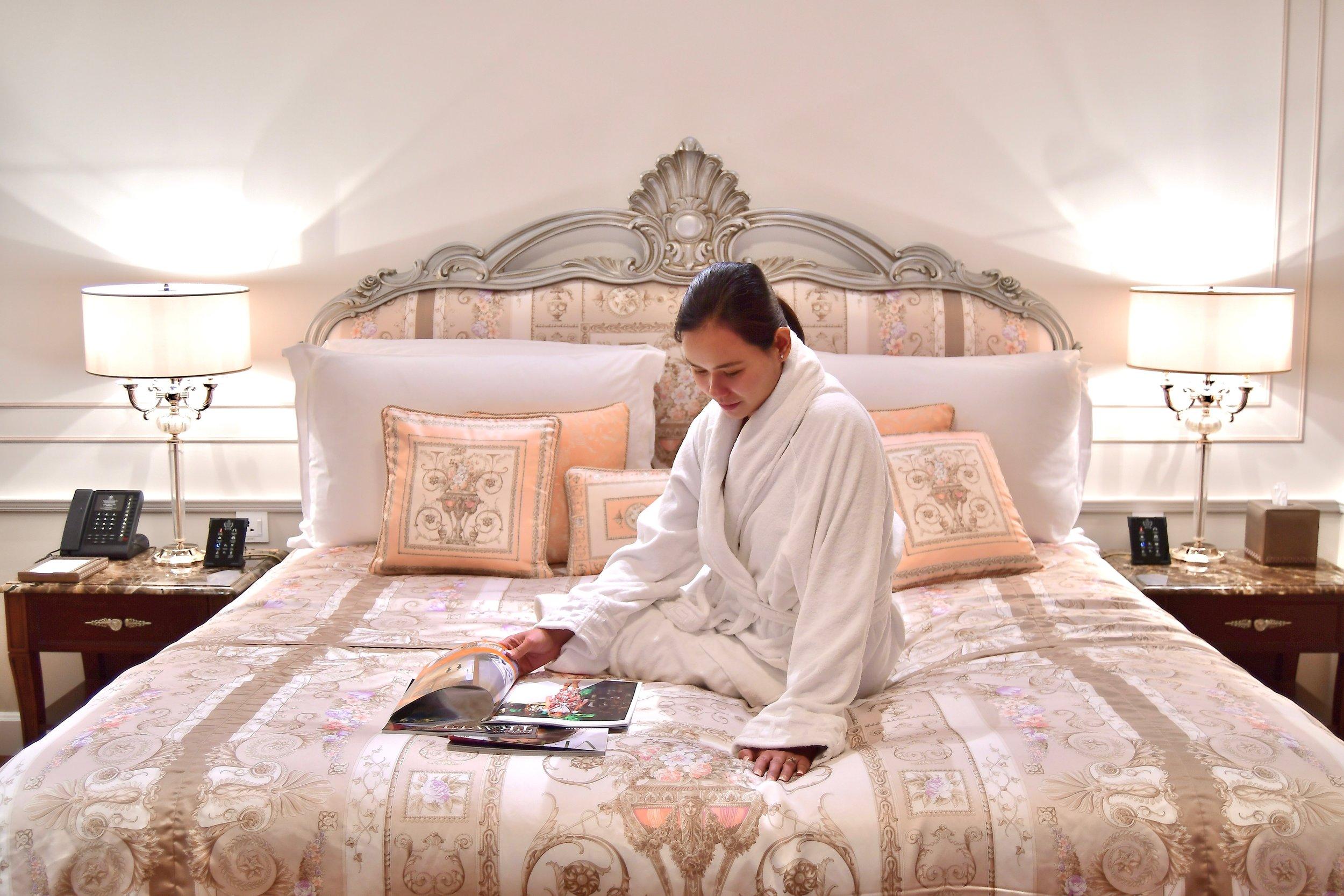 Grand Suite - Bedroom (Palazzo Versace Dubai)