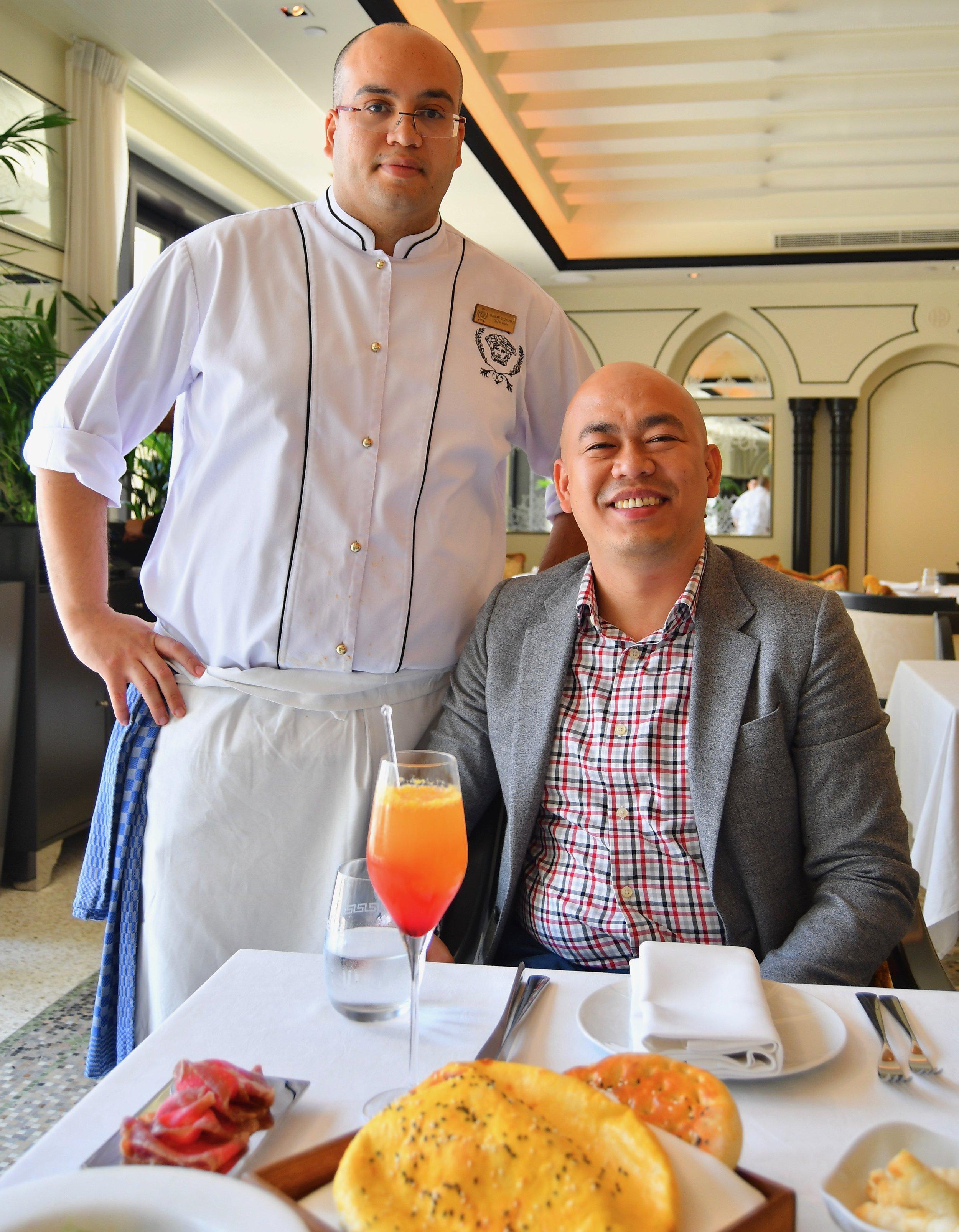 Enigma - Chef de Cuisine Gurkan Gozyilmaz (Palazzo Versace Dubai)