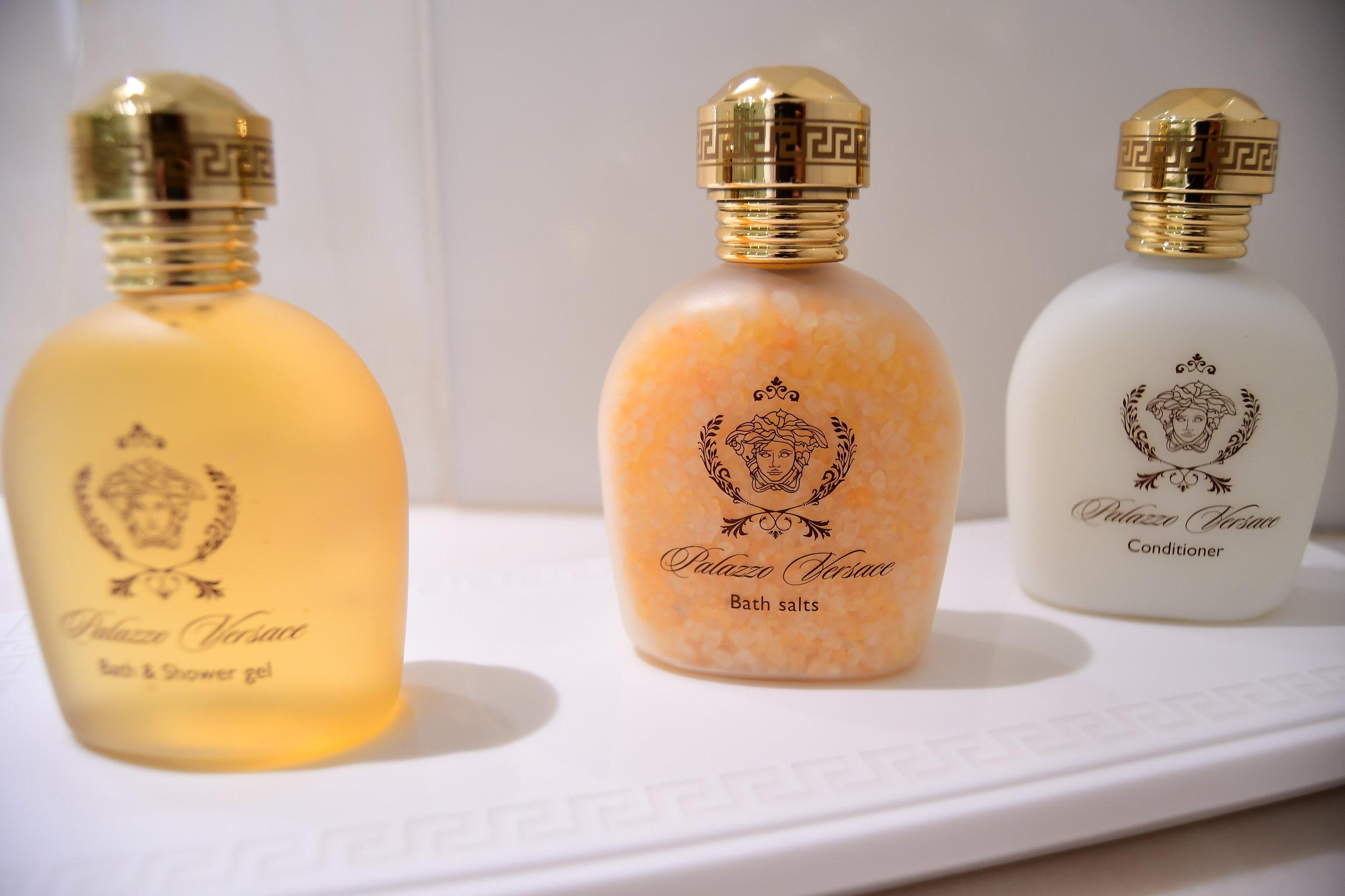 Grand Suite - Bathroom Amenities (Palazzo Versace Dubai)