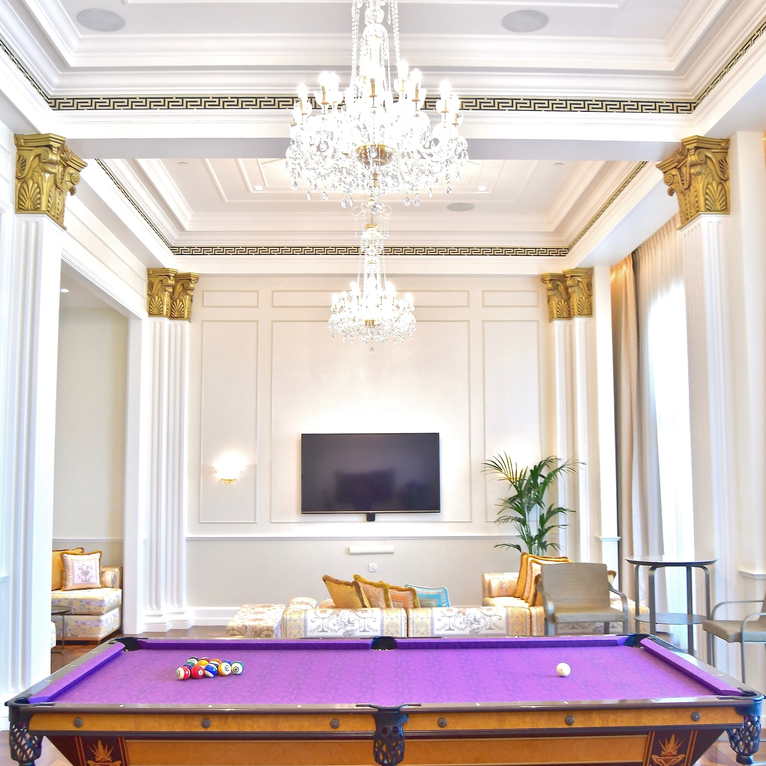 Imperial Suite - Billiard Room (Palazzo Versace Dubai)
