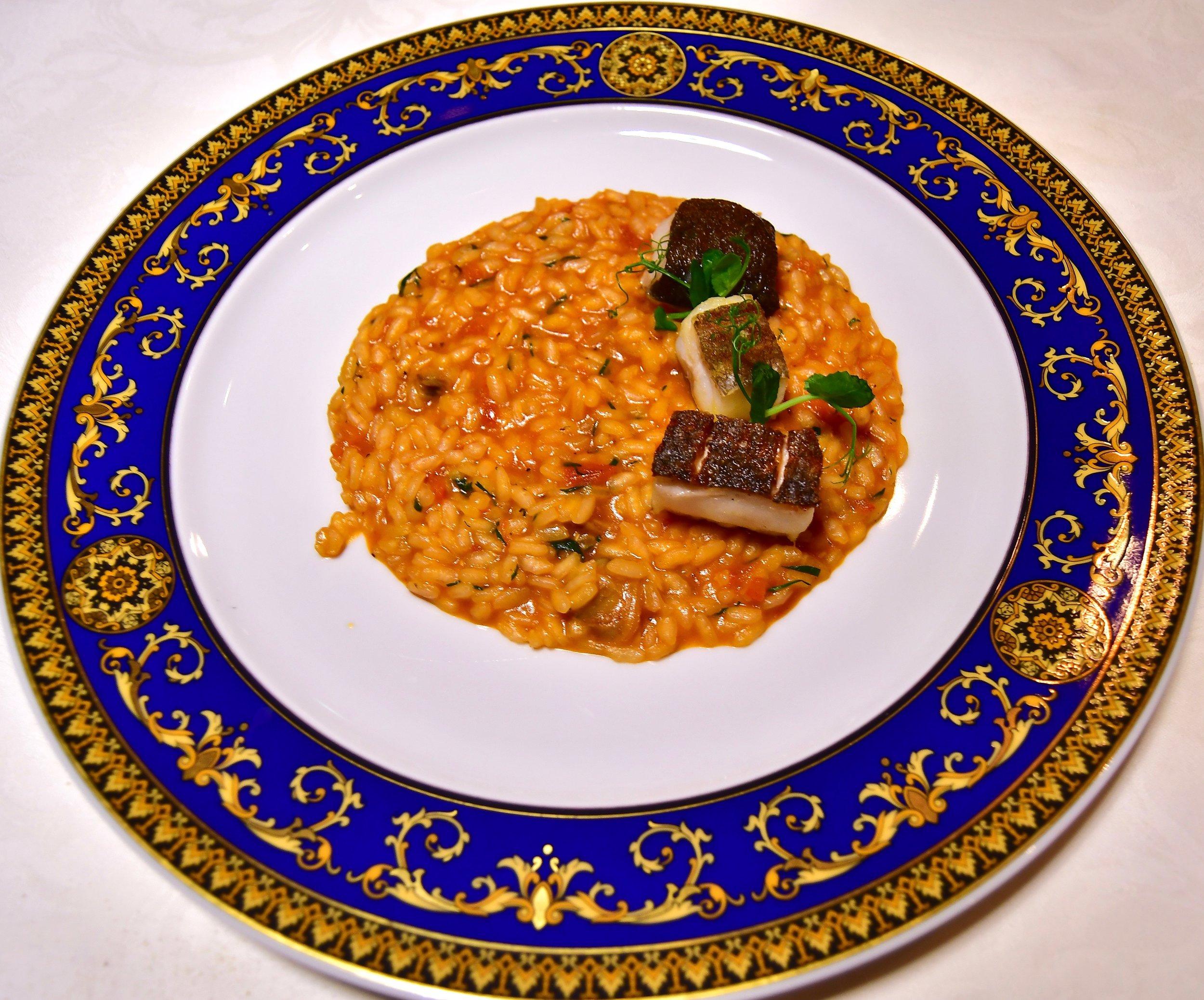 Vanitas - Seafood Risotto (Palazzo Versace Dubai)