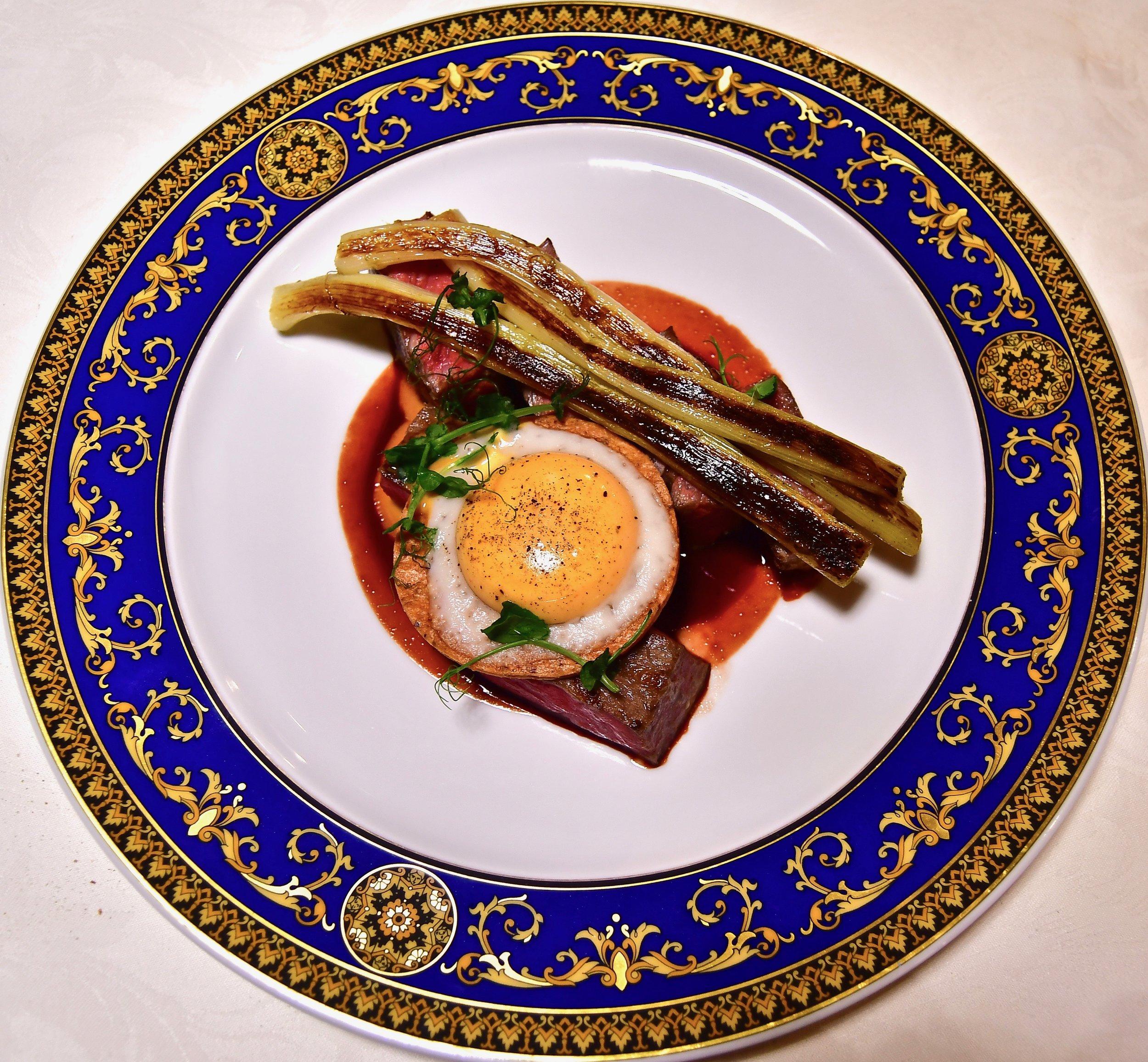 Vanitas - Wagyu all' Occhio di Bleu (Palazzo Versace Dubai)