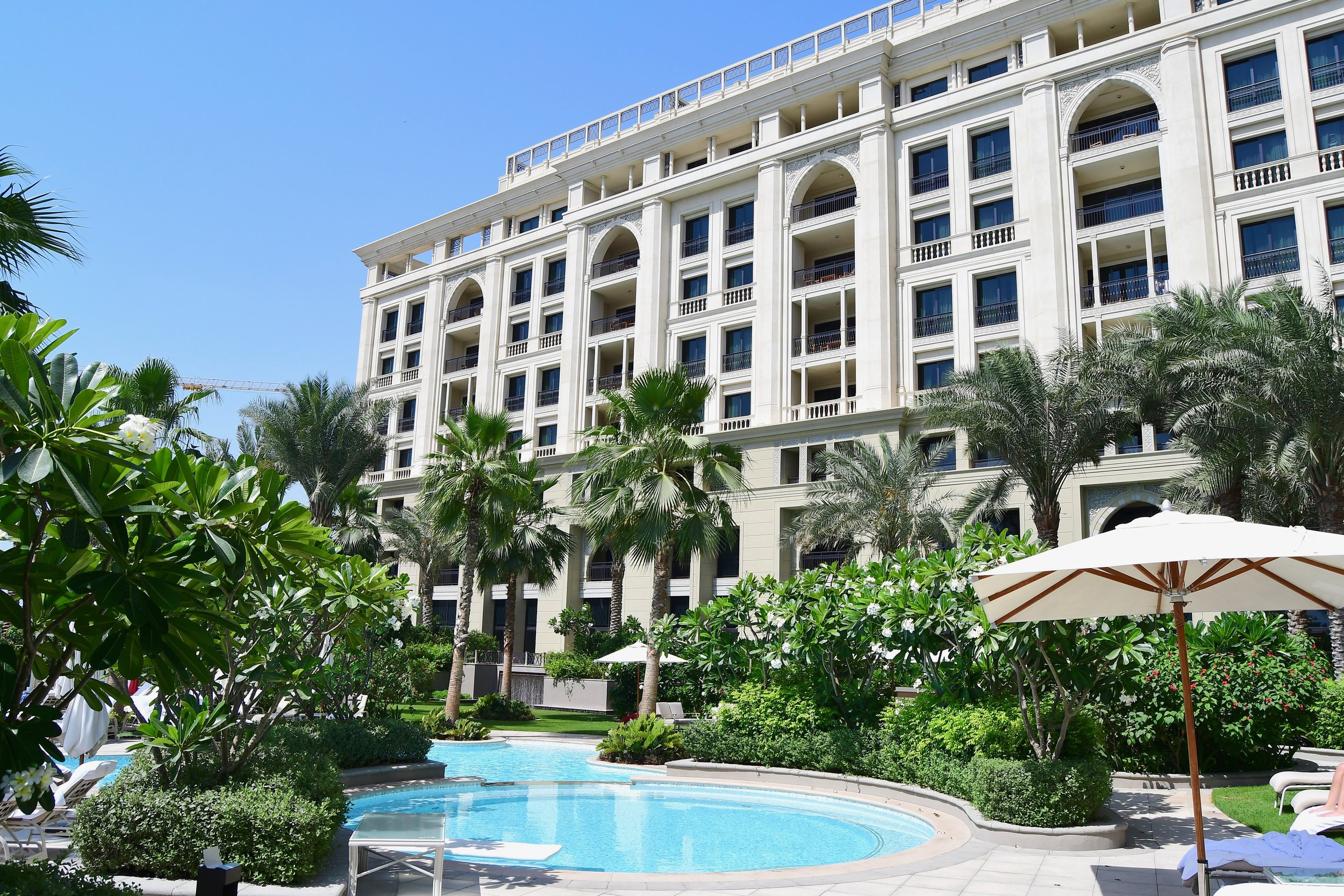 East Wing Pool (Palazzo Versace Dubai)