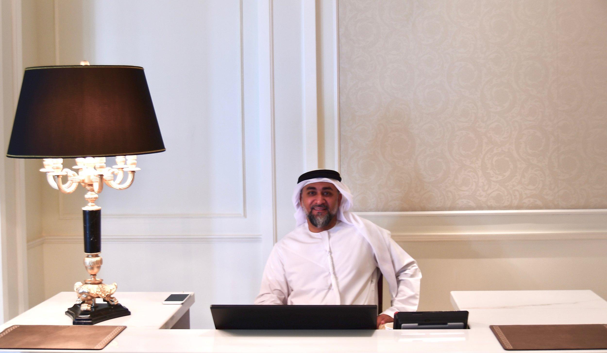 Director of Protocol & Government Relations, Bader Alansaari (Palazzo Versace Dubai)