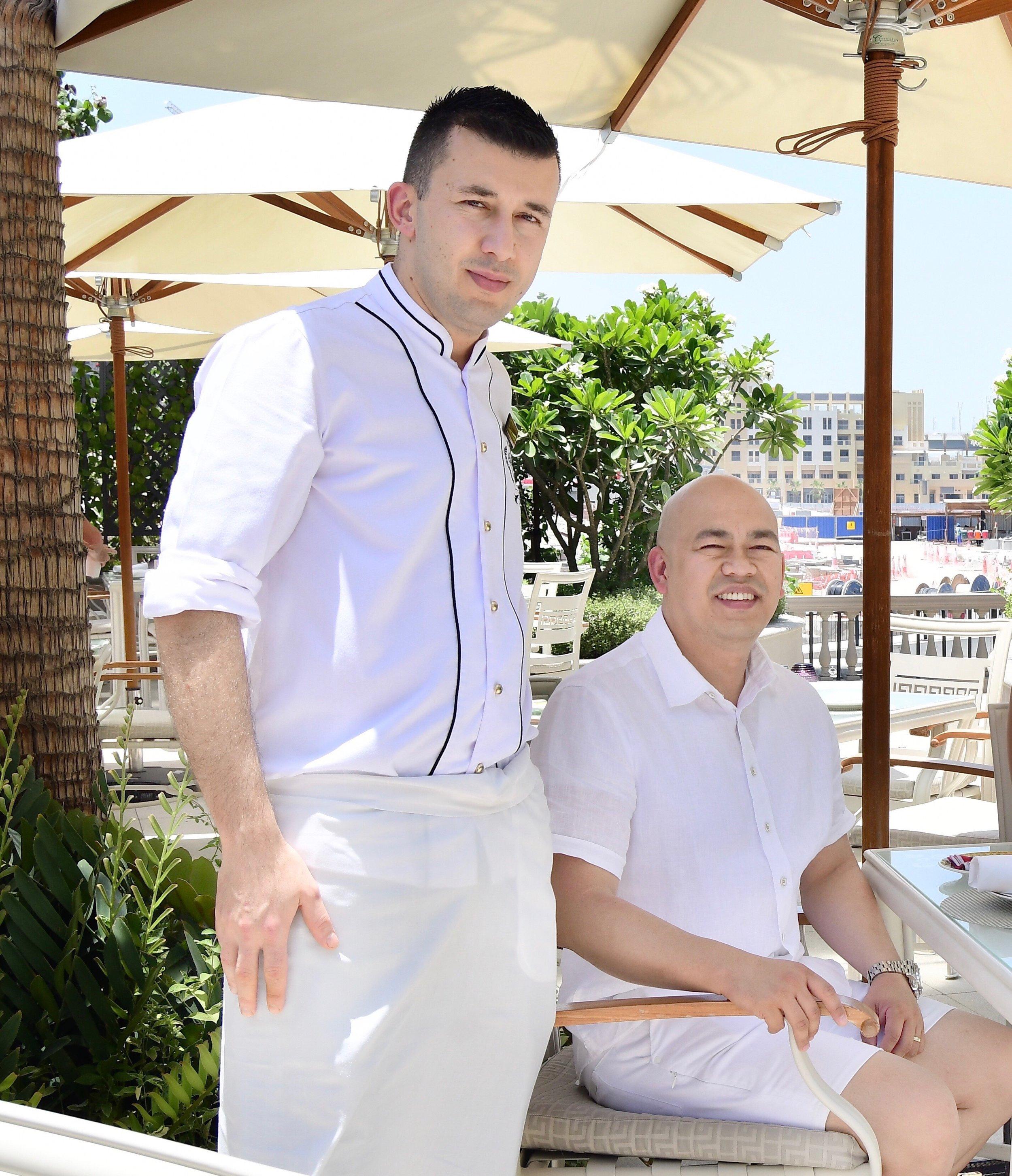 Amalfi - Executive Sous Chef Yunus Emre Aydin (Palazzo Versace Dubai)