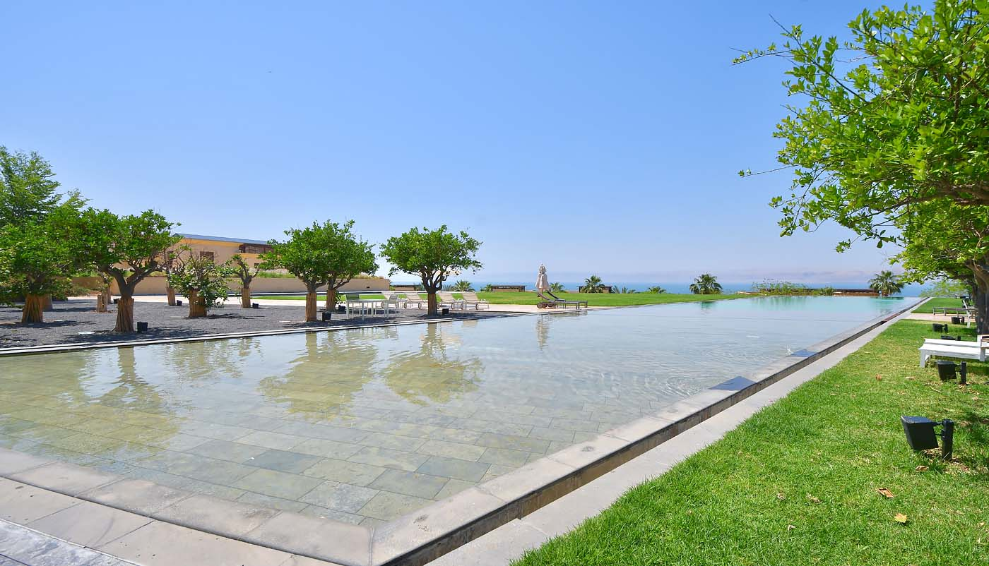 Spa by Resense Outdoor Area (Kempinski Hotel Ishtar Dead Sea)