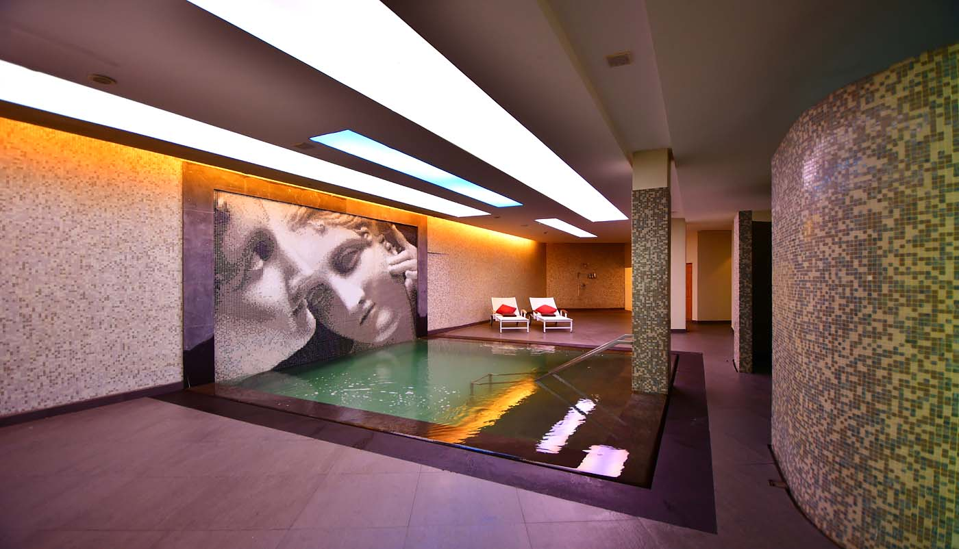 Spa by Resense Dead Sea indoor pool (Kempinski Hotel Ishtar Dead Sea)